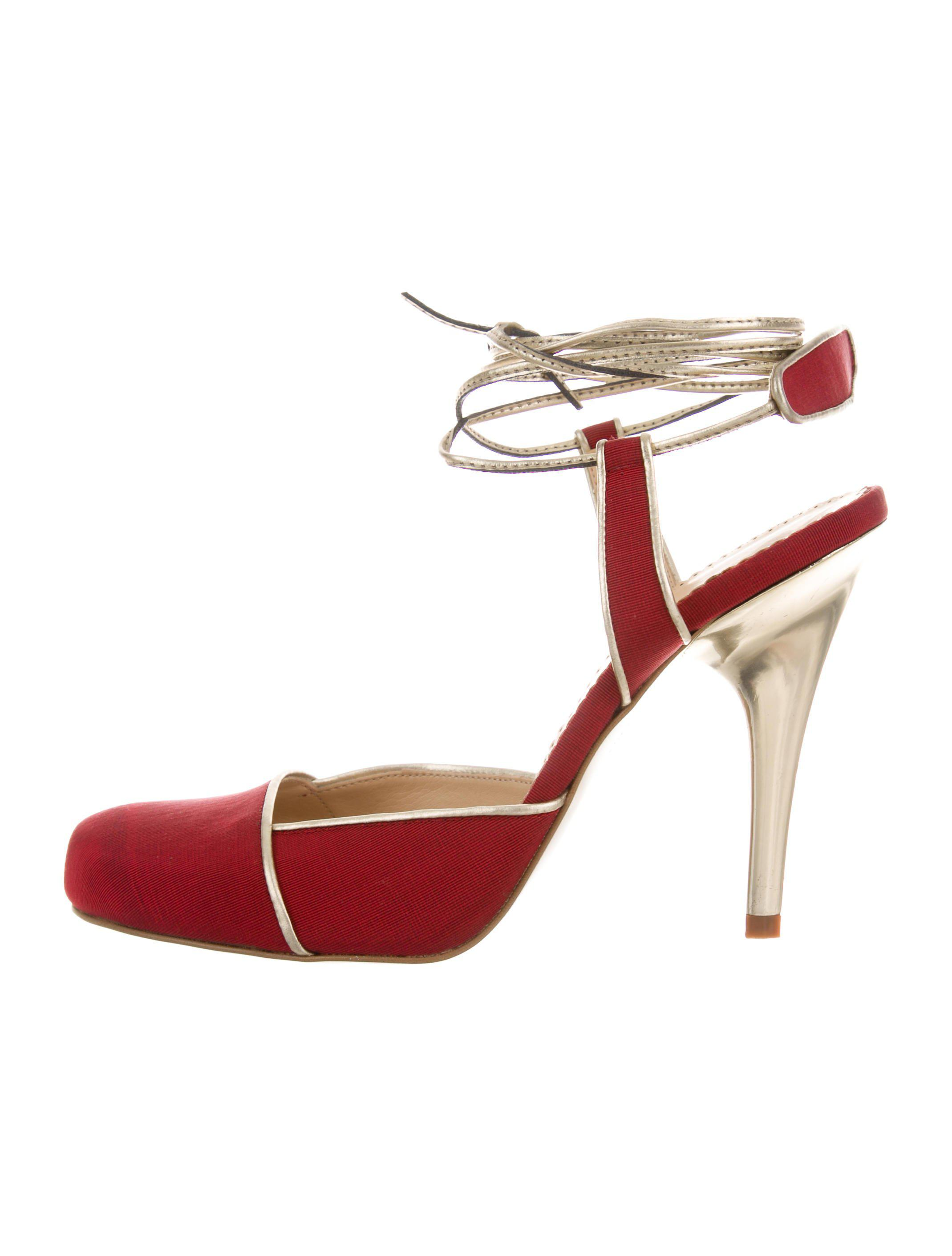 Stella McCartney Round-Toe Lace-Up Pumps clearance best seller classic online e2hEsp