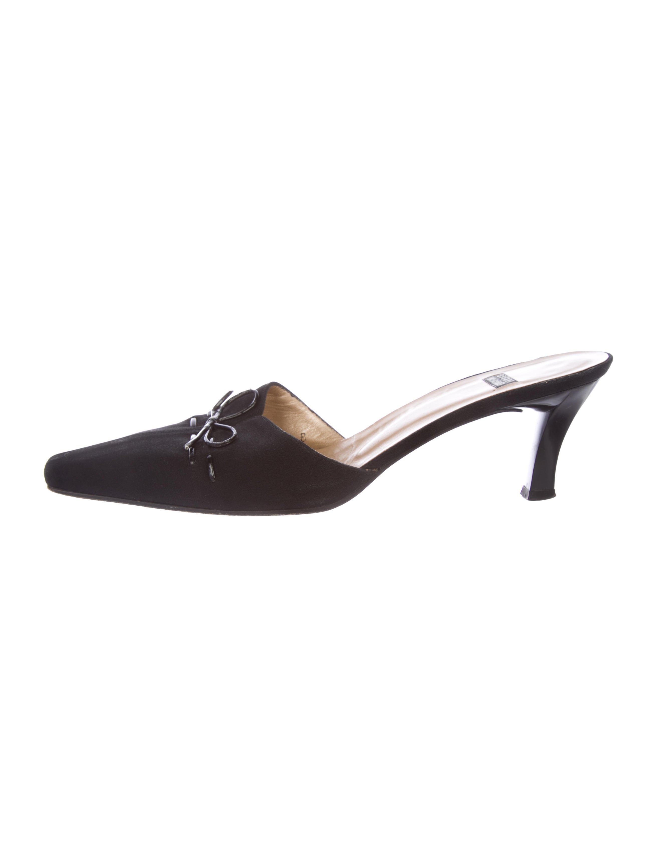 Stuart Weitzman Gloambiance Pointed-Toe Mules countdown package free shipping latest collections big discount txcWL