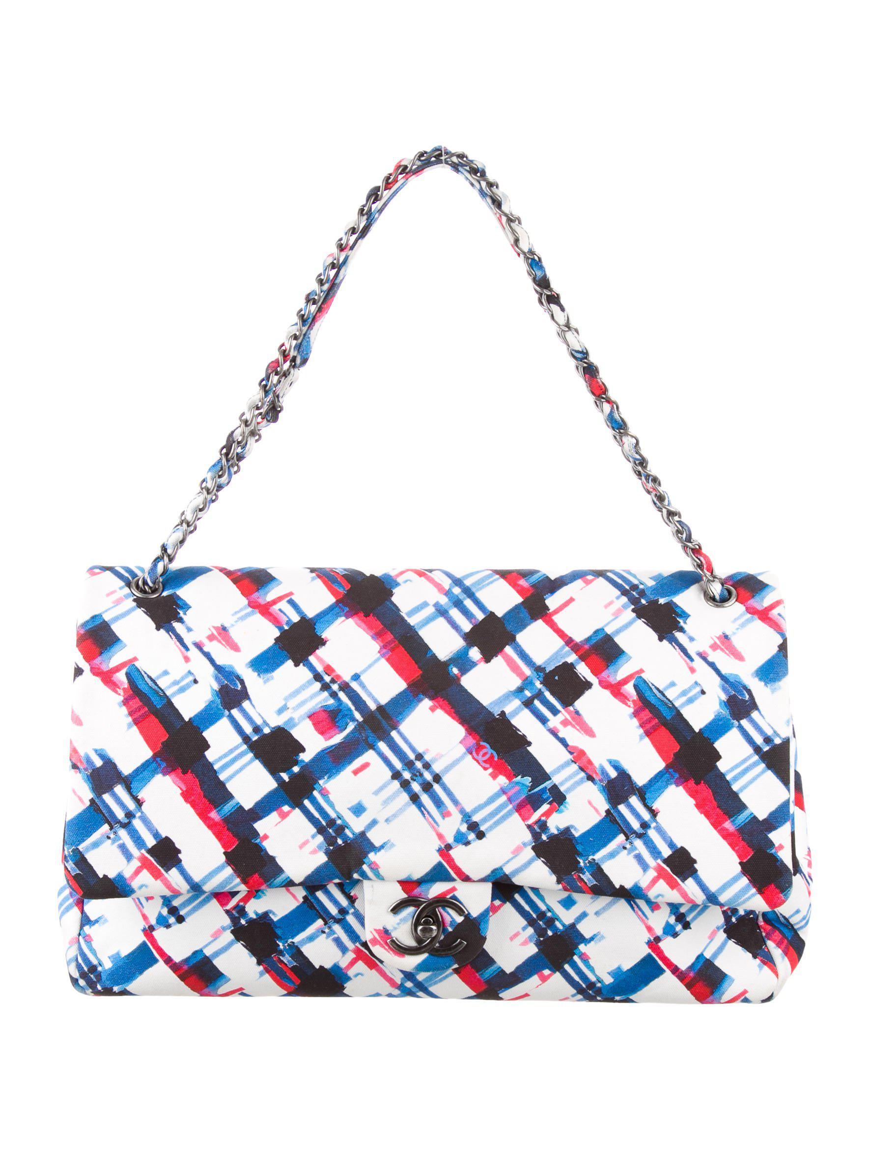 b28fbb5fe64a Chanel Jumbo Xxl Travel Bag
