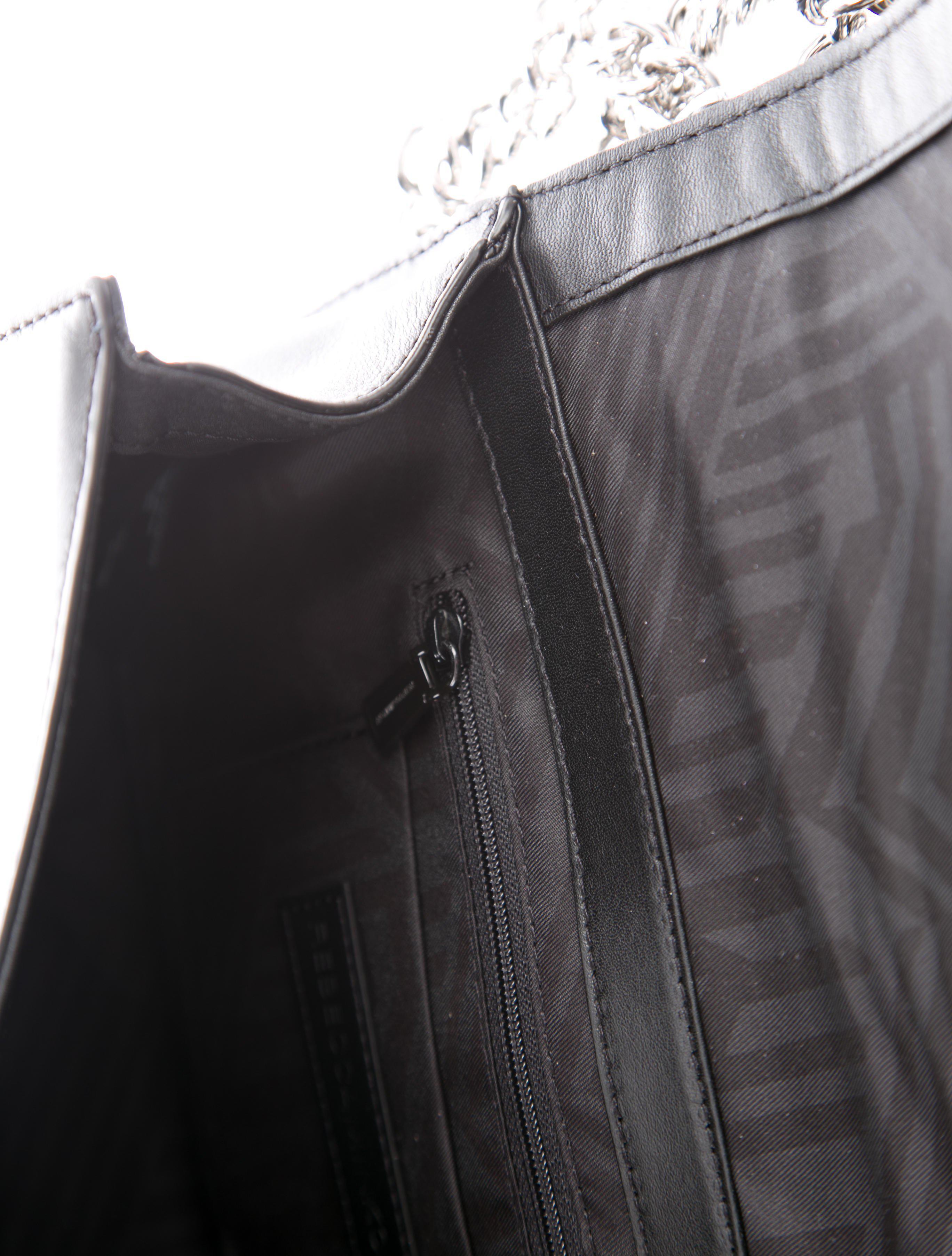 91e03be83c Lyst - Rebecca Minkoff Bicolor Love Crossbody Bag W  Tags Black in ...