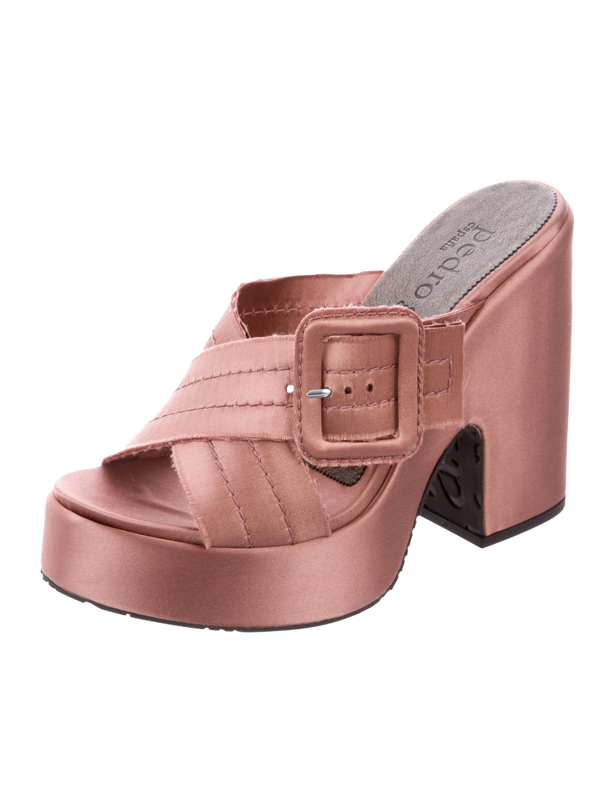 Pedro Garcia Tomasina Platform Mules w/ Tags outlet free shipping authentic discount visit new tFrDWm