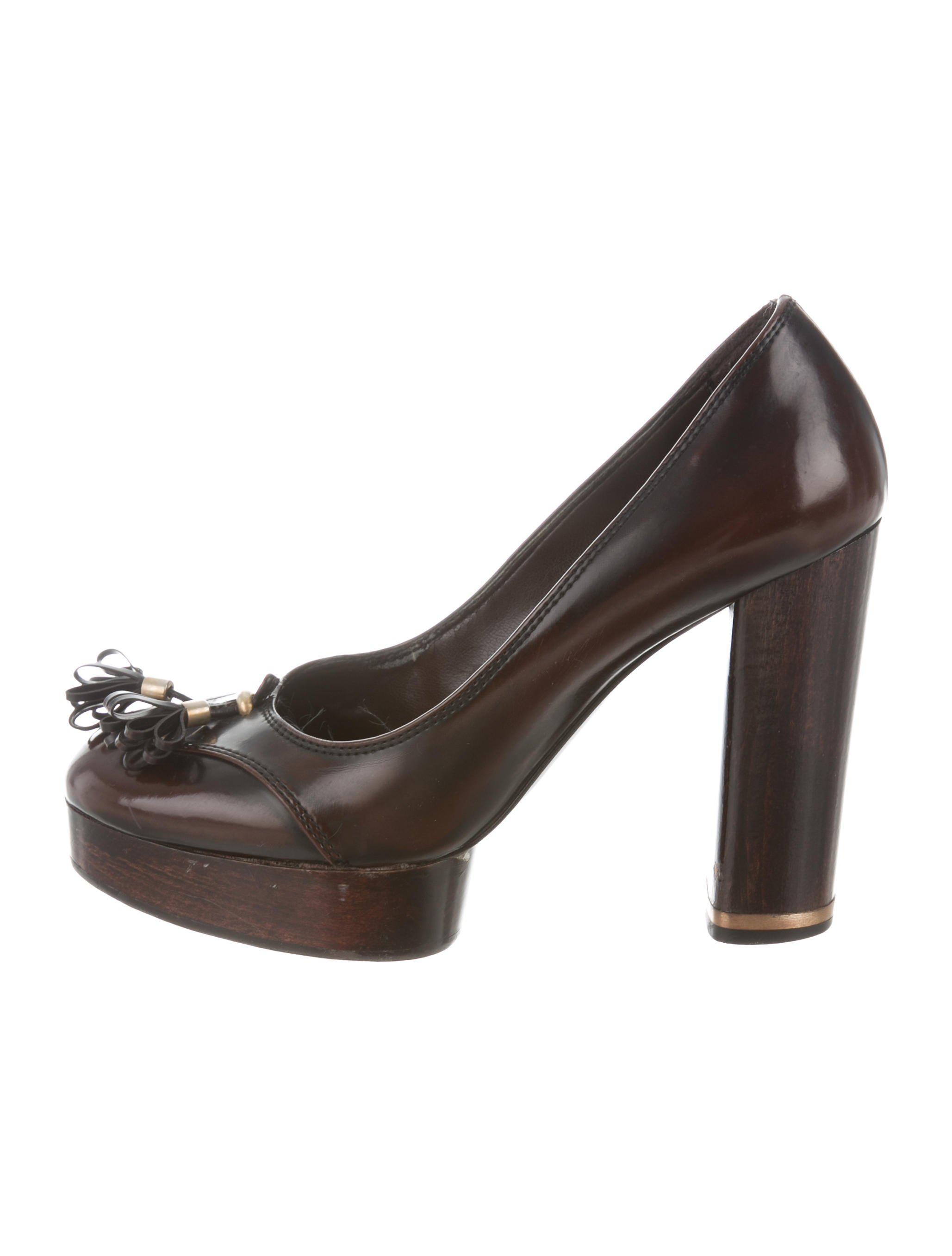 Stella McCartney Round-Toe Platform Pumps top quality for sale buy cheap low price really online 9N0fK
