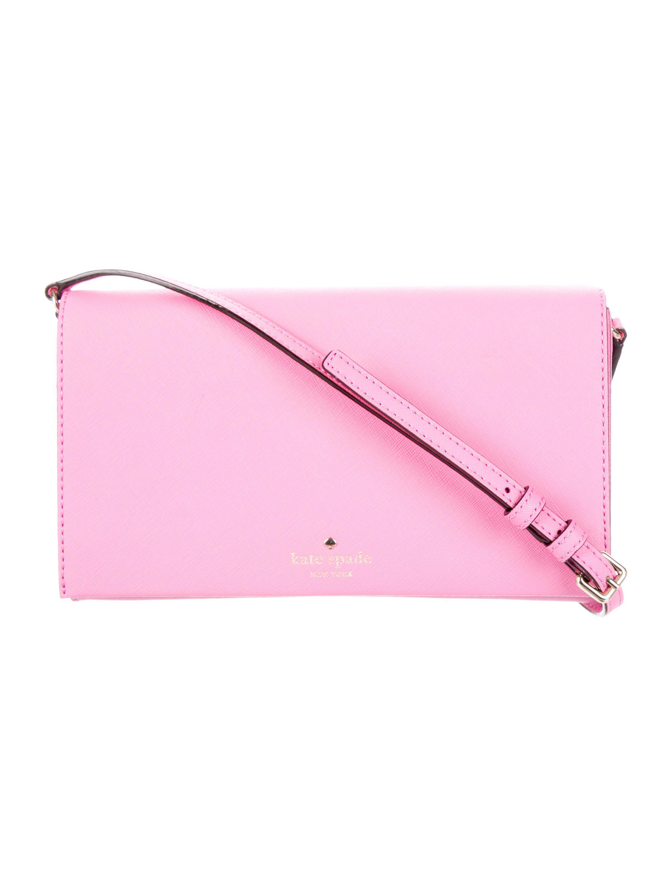 9c457576b093 Lyst - Kate Spade Cedar Street Cali Crossbody Bag Pink in Metallic