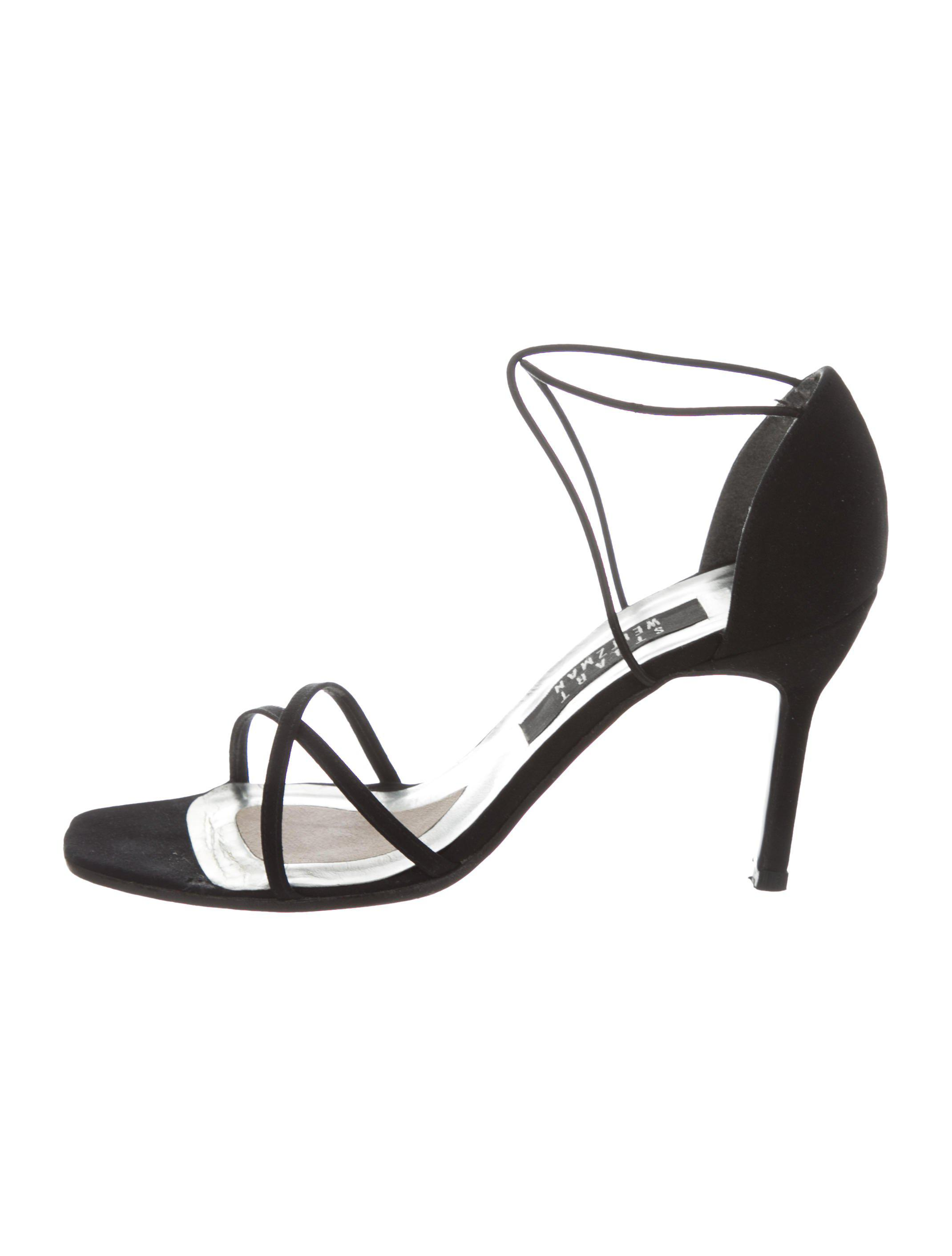 free shipping marketable Stuart Weitzman Square-Toe Multistrap Sandals free shipping limited edition new styles online LsT7dK9OfB