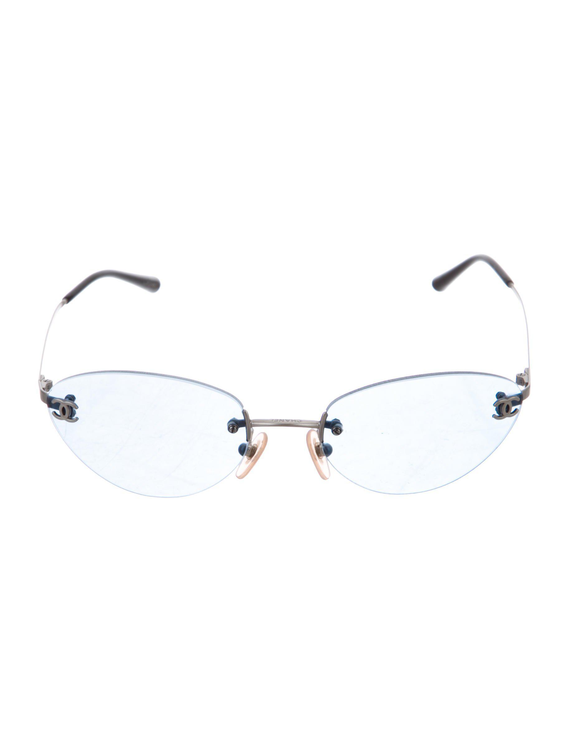 cd87ff247d7 Chanel - Metallic Rimless Cc Sunglasses Silver - Lyst. View fullscreen
