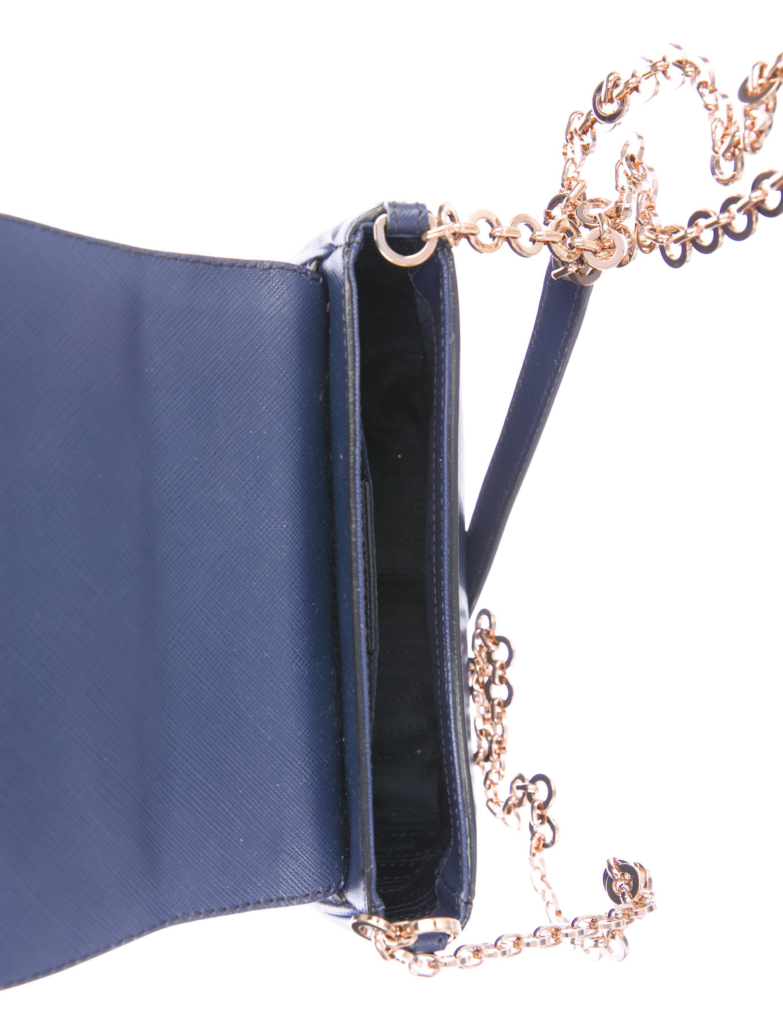 Ferragamo - Metallic Saffiano Fancy Shoulder Bag Blu - Lyst. View fullscreen 9192ffc330337