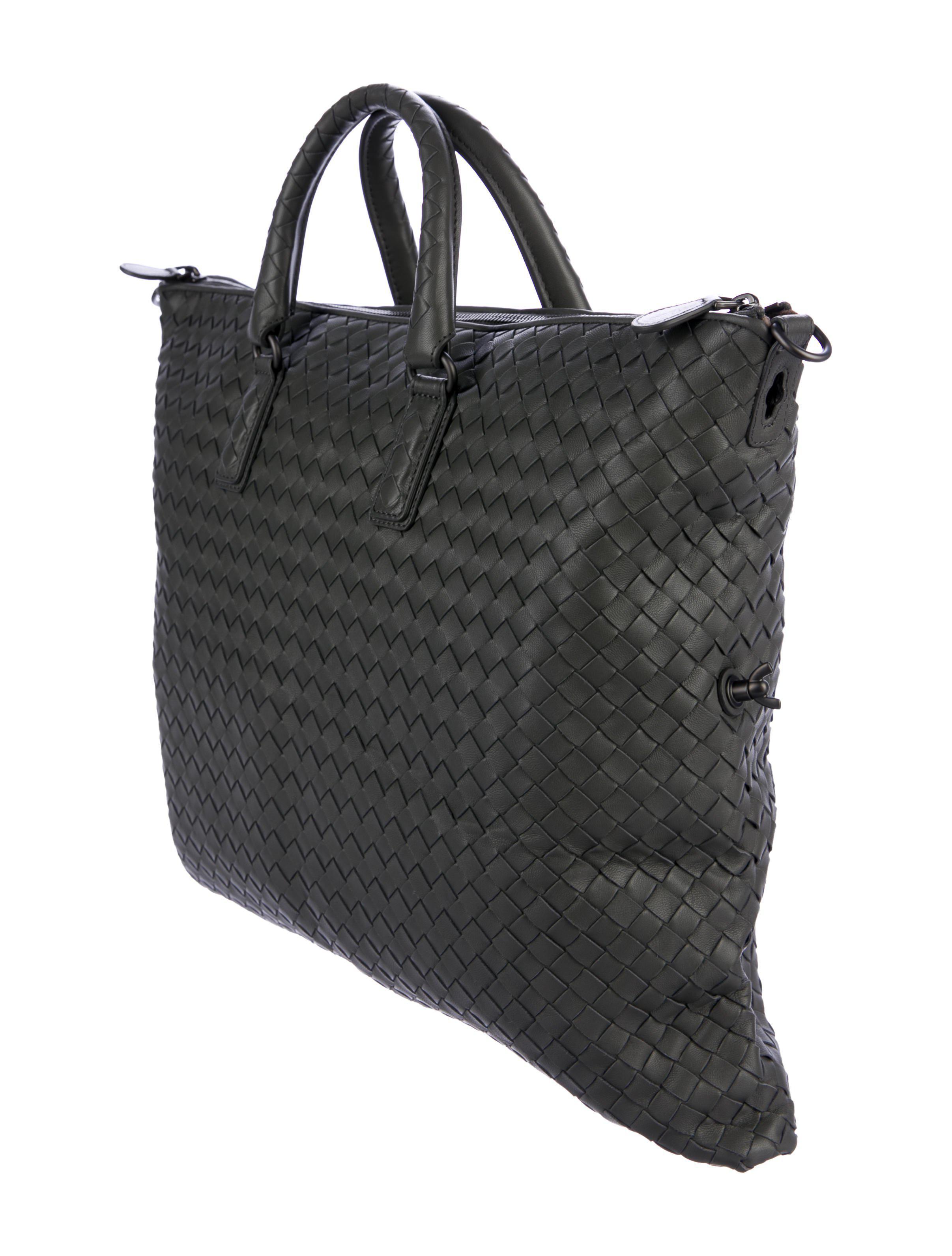 Lyst - Bottega Veneta Intrecciato Convertible Bag W  Tags Grey in Gray 4145a8d5d85d8