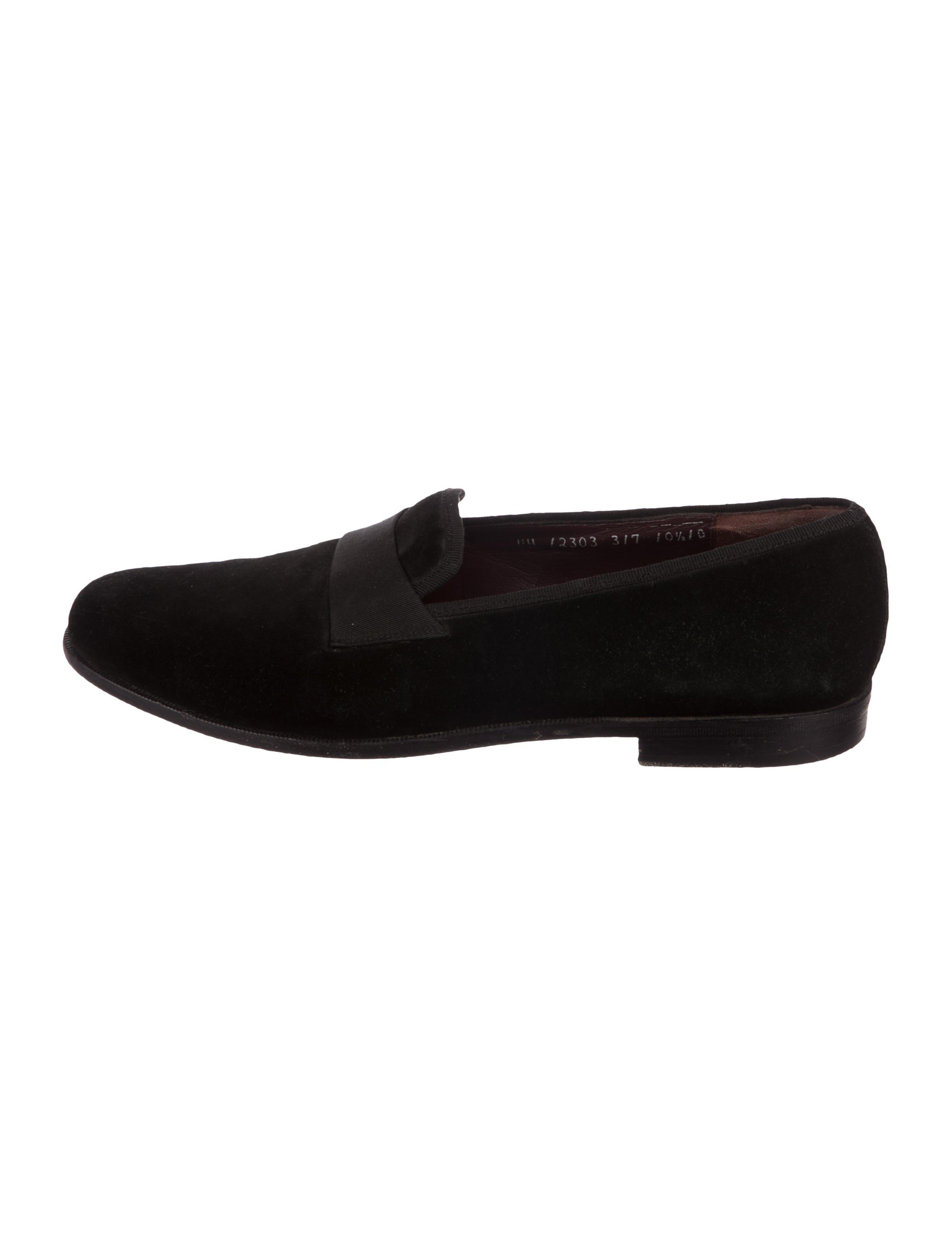 ab889b6cbf3d Ferragamo - Black Suede Smoking Slippers for Men - Lyst. View fullscreen