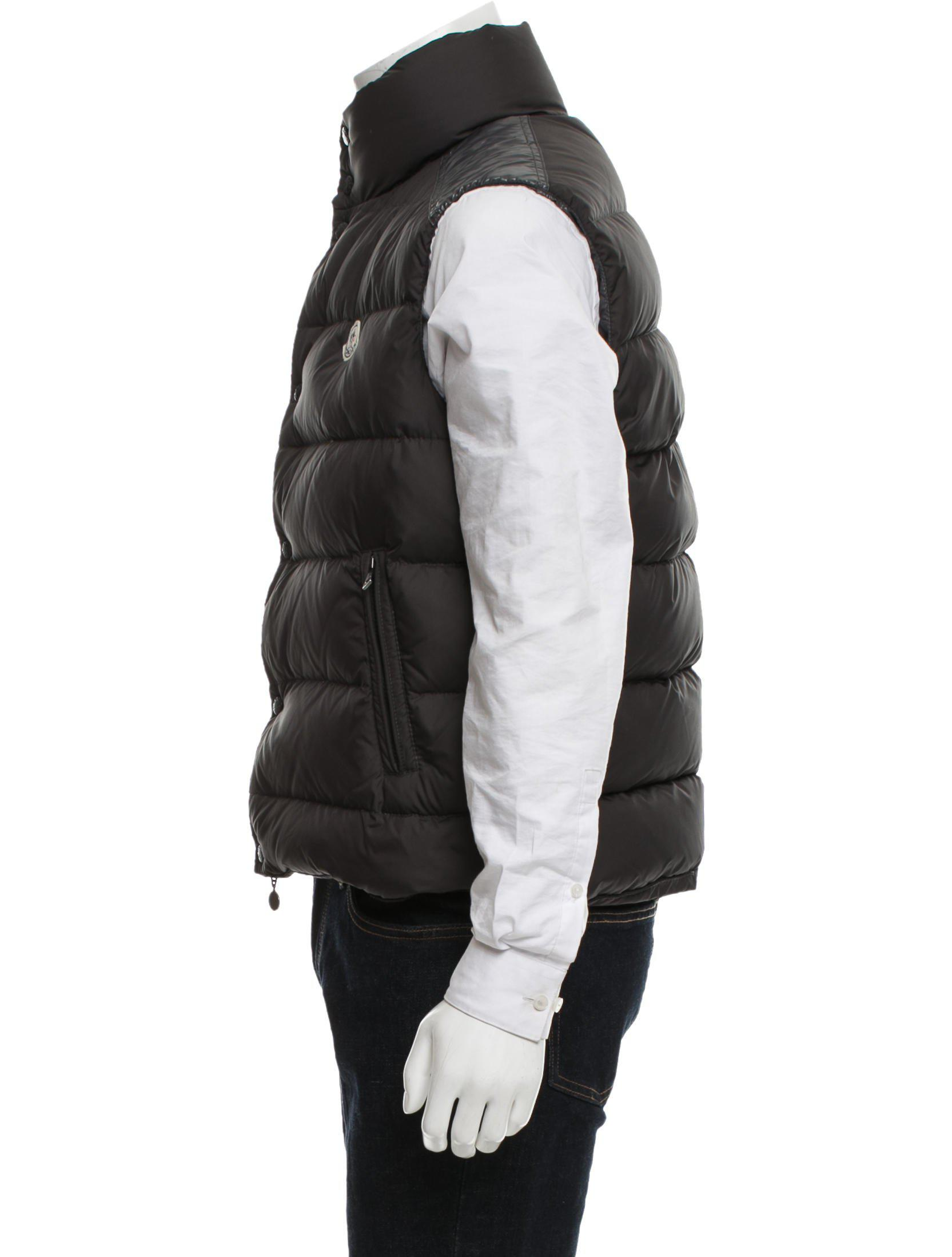 d8c027745c9c ... where can i buy lyst moncler cheval puffer vest black in natural for men  62ba3 c2167 ...