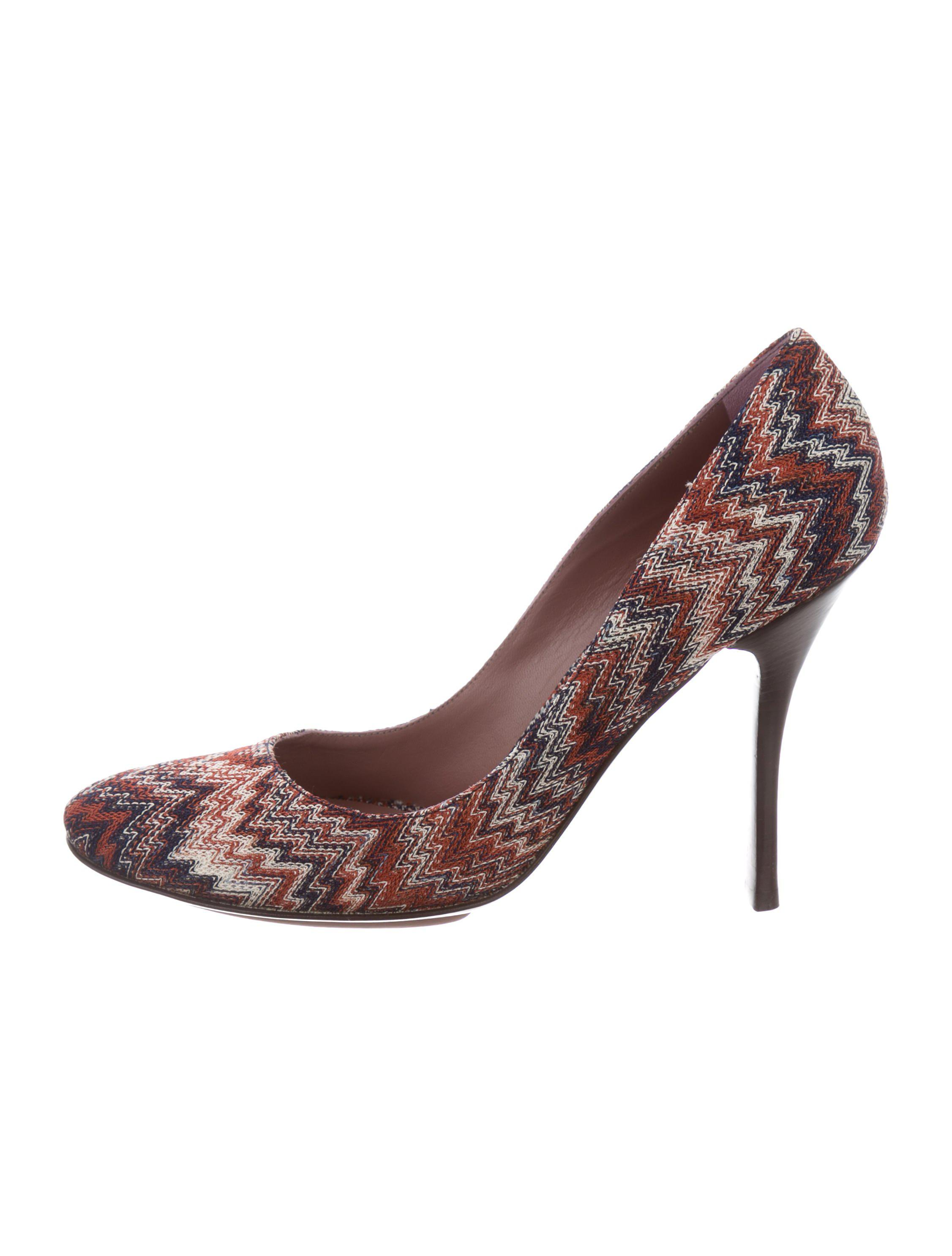 Missoni Knit Platform Pumps w/ Tags good selling sale online ThVRr4g1