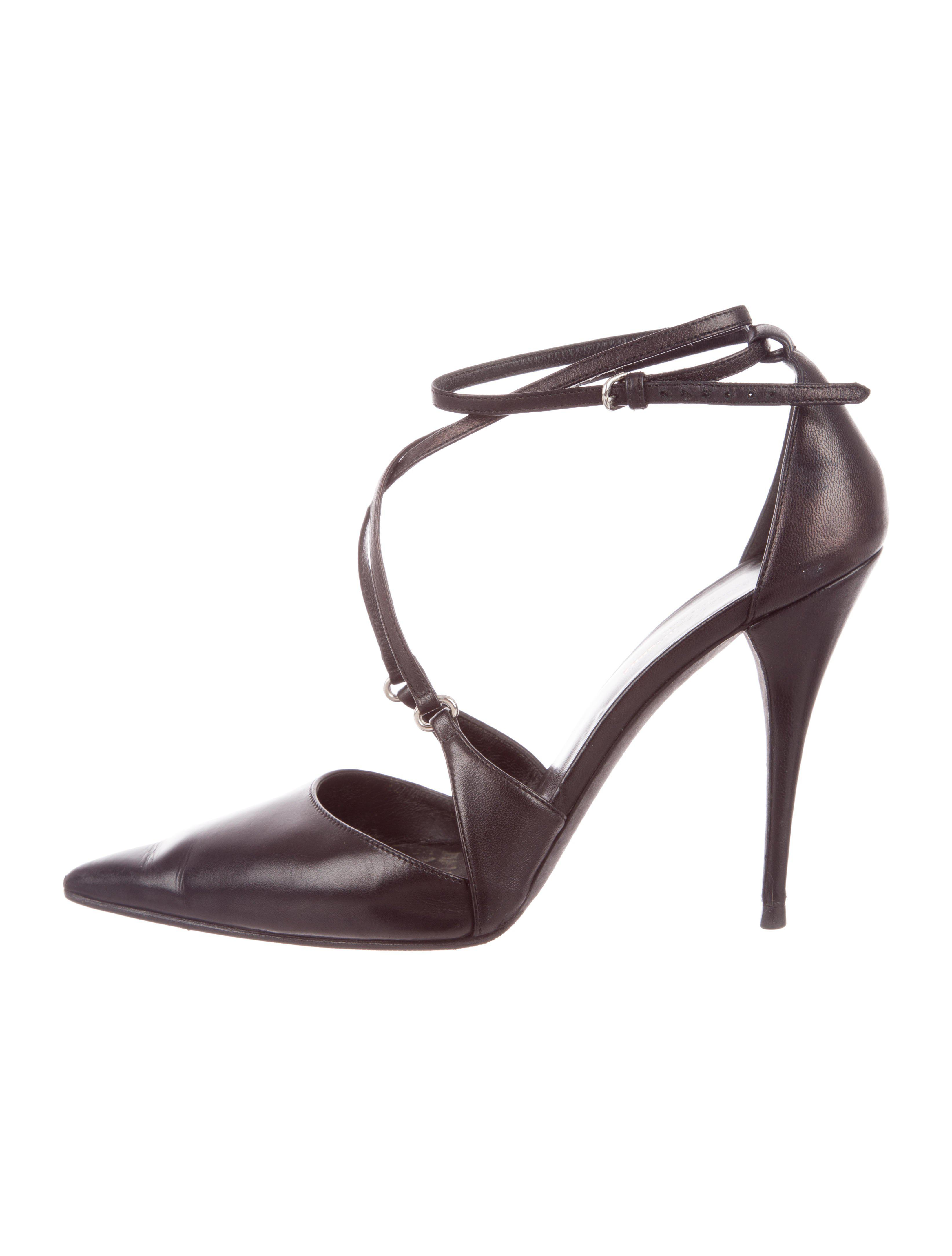 sale low shipping Narciso Rodriguez Pointed-Toe Leather Pumps buy cheap factory outlet tumblr for sale best prices online low price fee shipping for sale ubNMVL