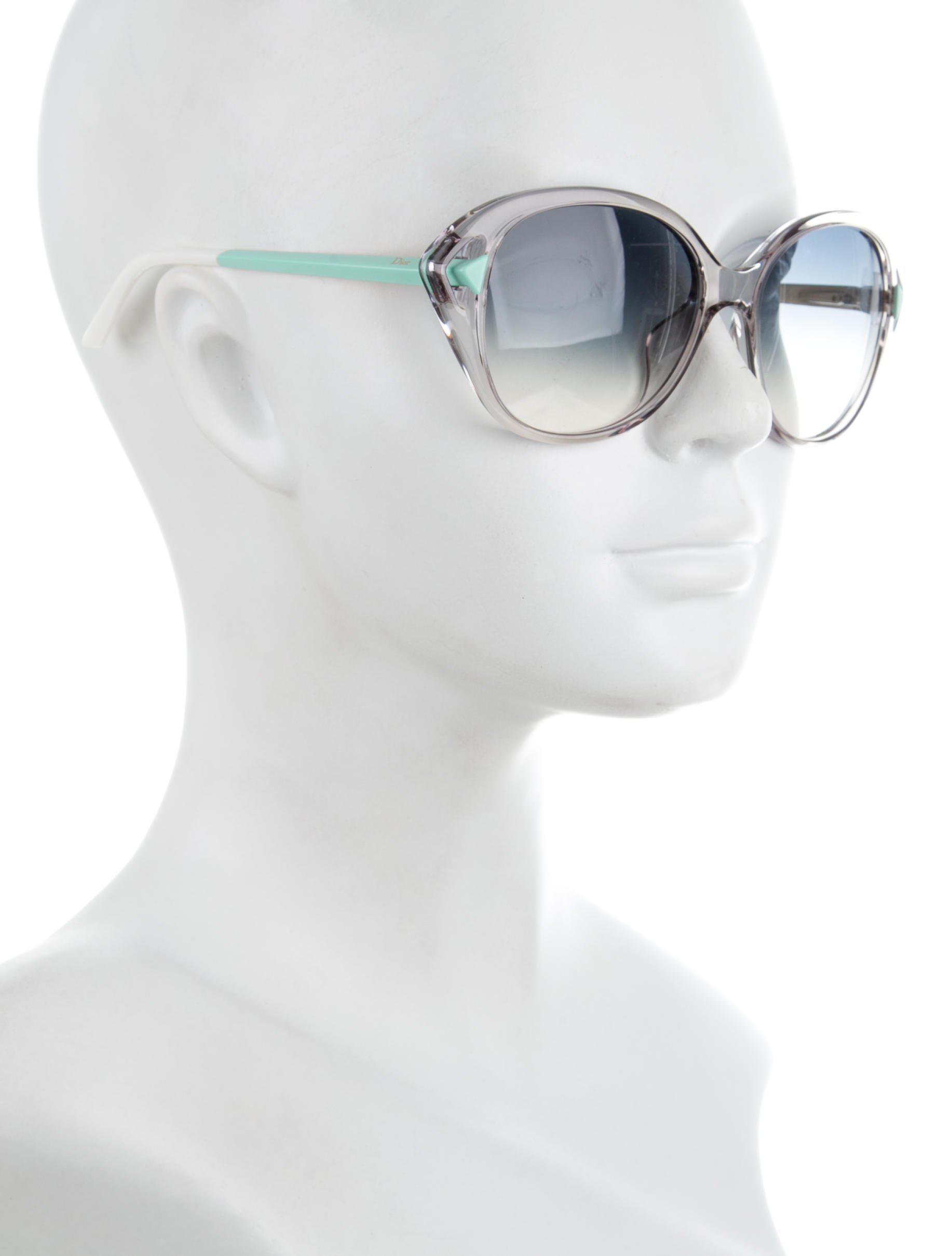 2e382bc13c62 Lyst - Dior Chromatic 2 Sunglasses Clear in Metallic