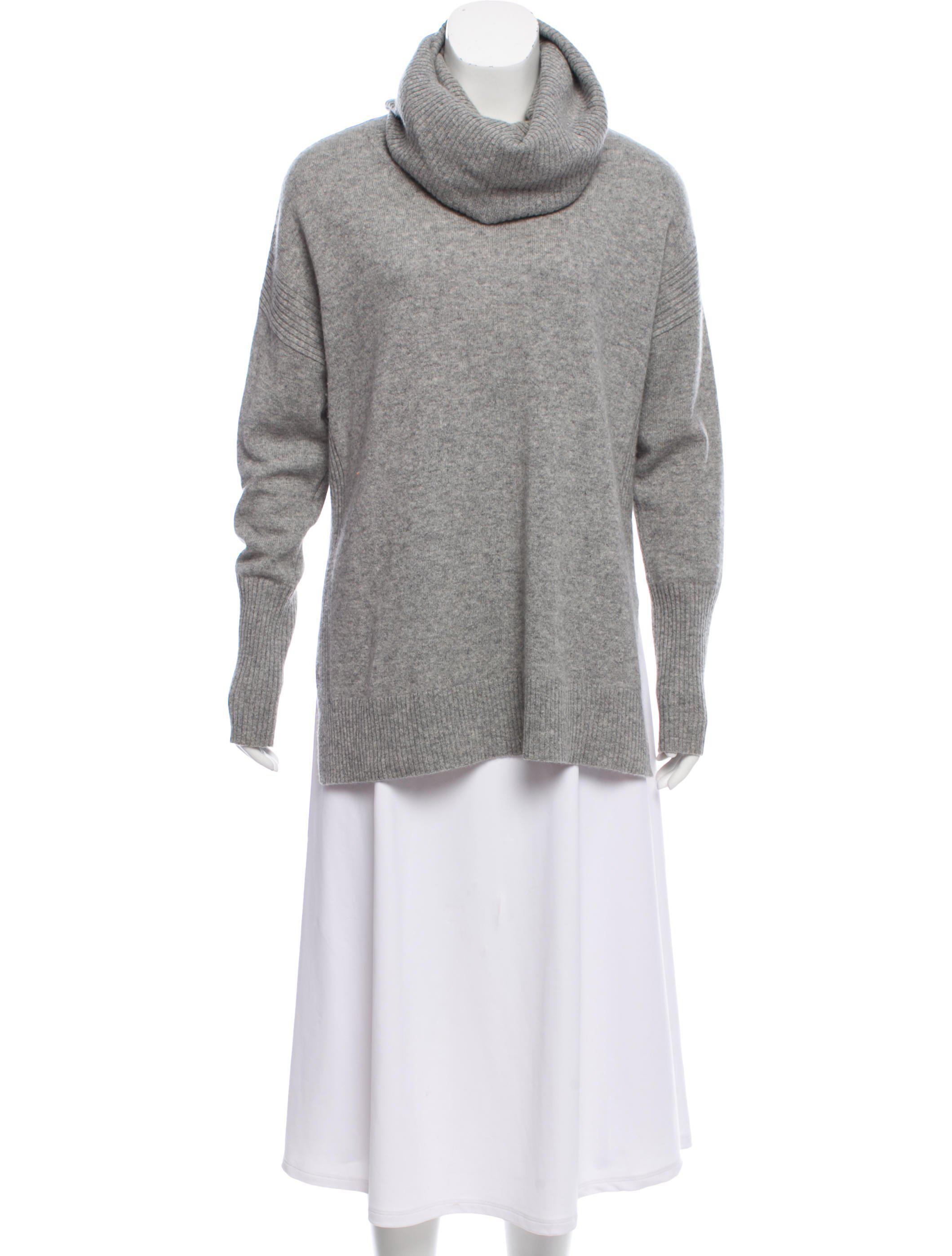 61bb5075411e Lyst - Diane Von Furstenberg Cashmere Ahiga Slim Sweater Grey in Gray