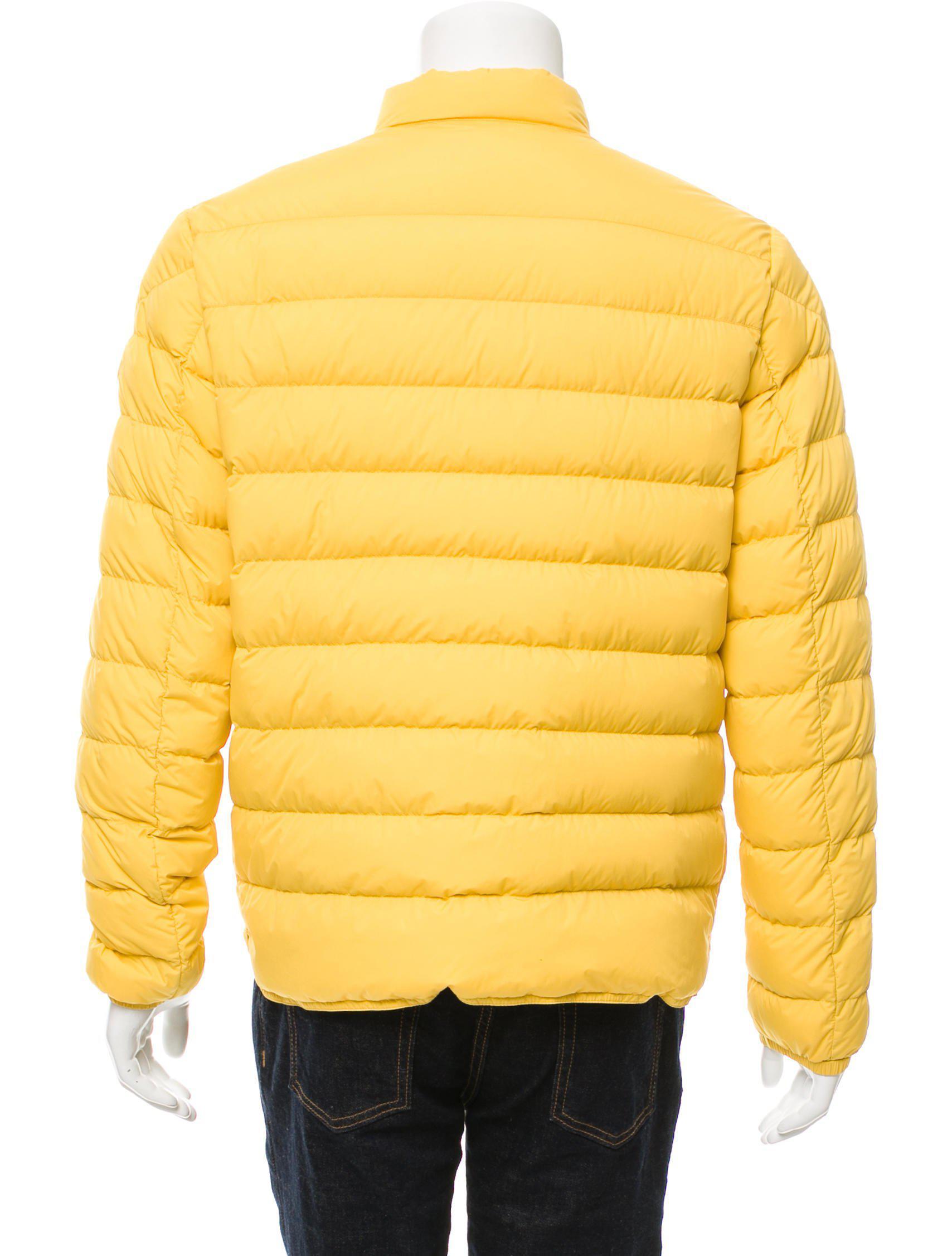moncler cyclope yellow