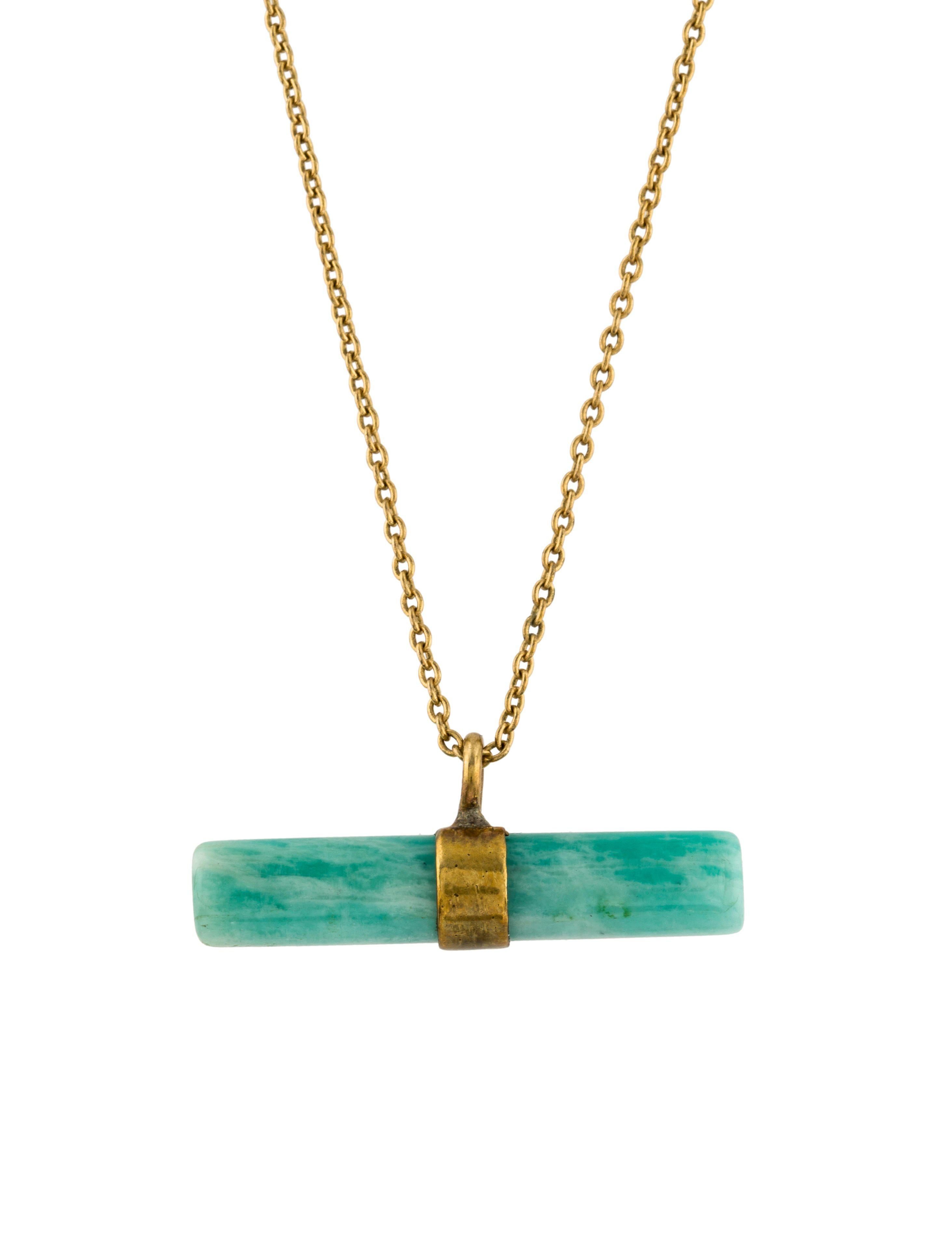 gold chic ethical in pendant set products halo necklace fantasy amazonite