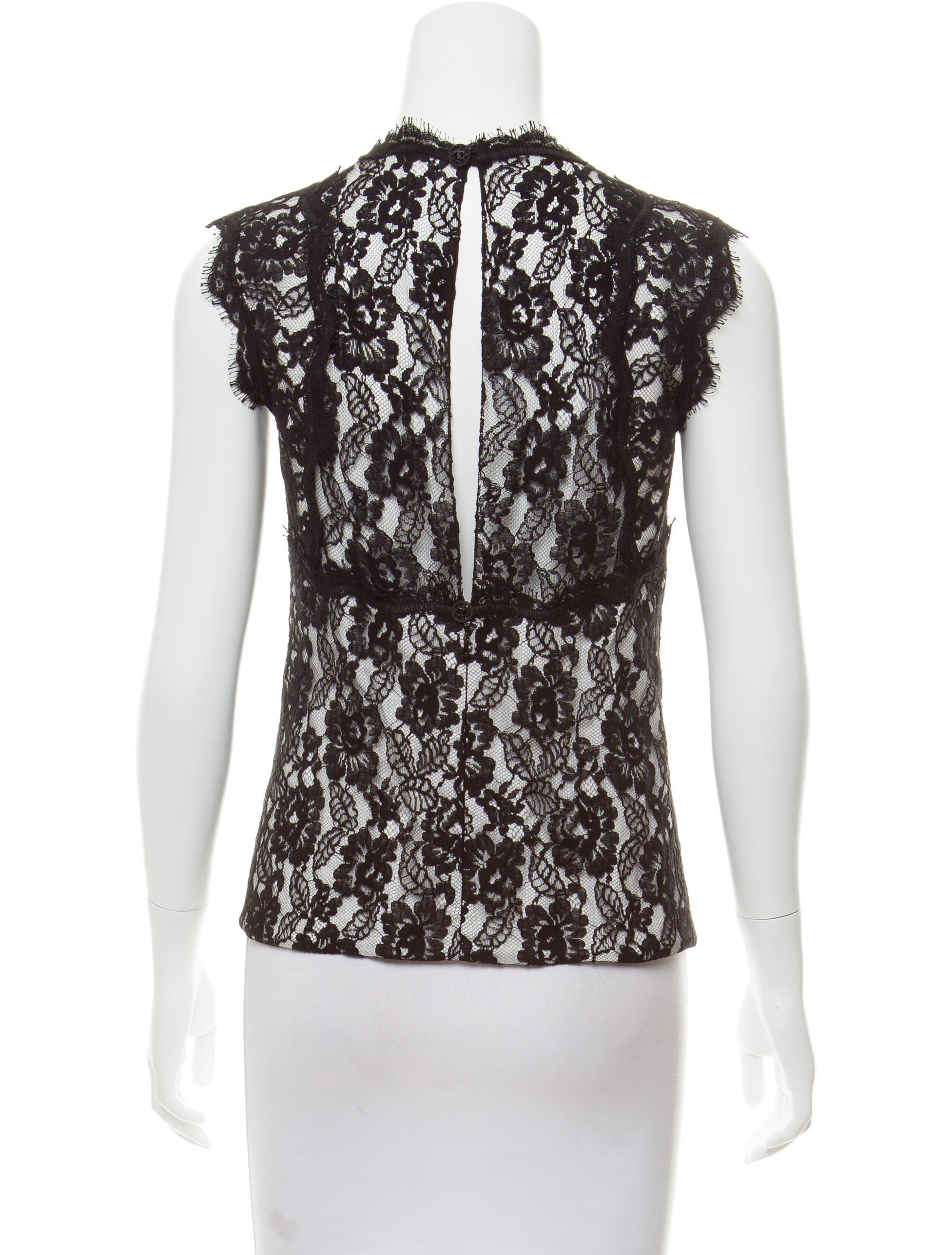 b251902a422 Chanel Lace Blouse | RLDM