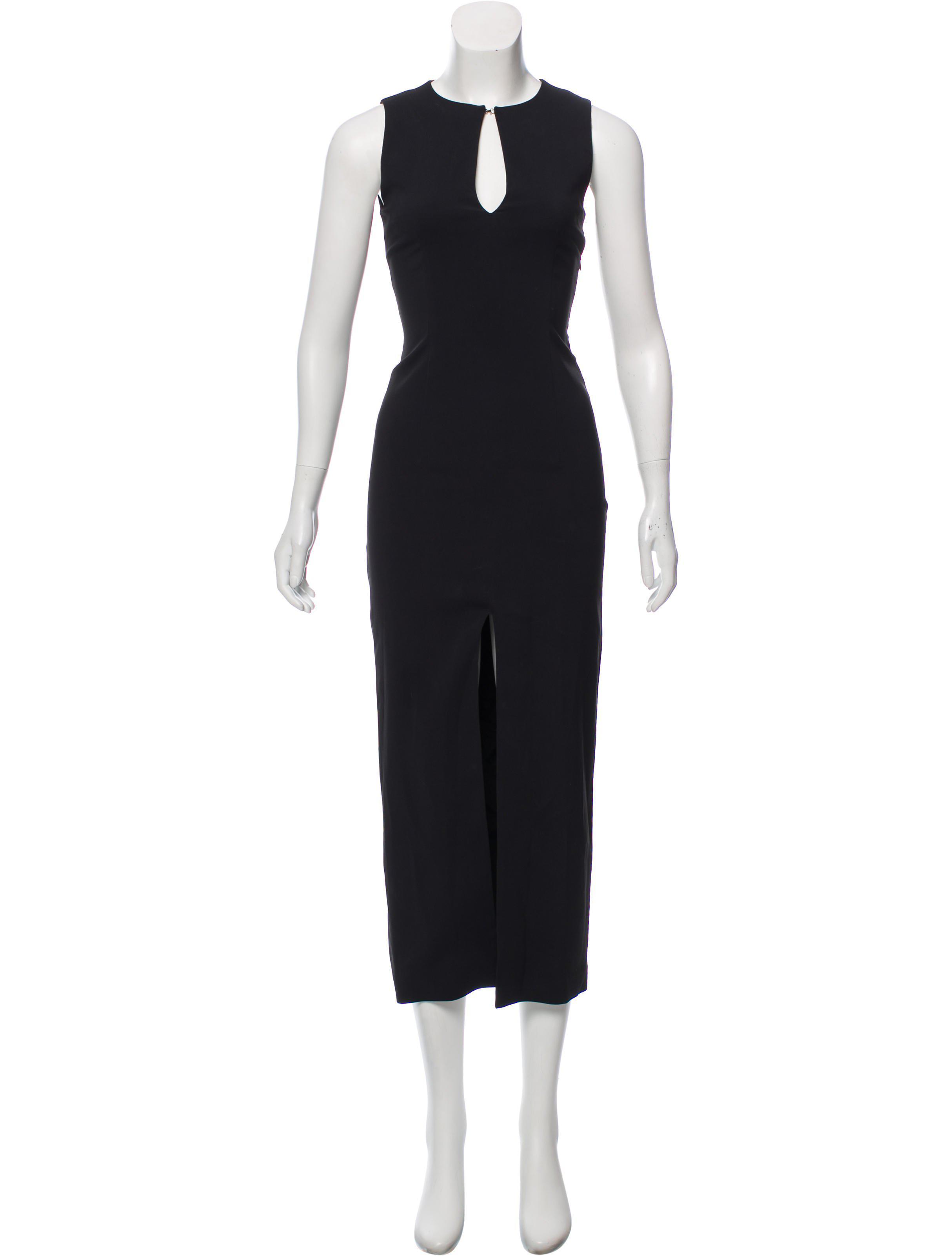 a25b43f0 Acne - Black Sleeveless Maxi Dress - Lyst. View fullscreen