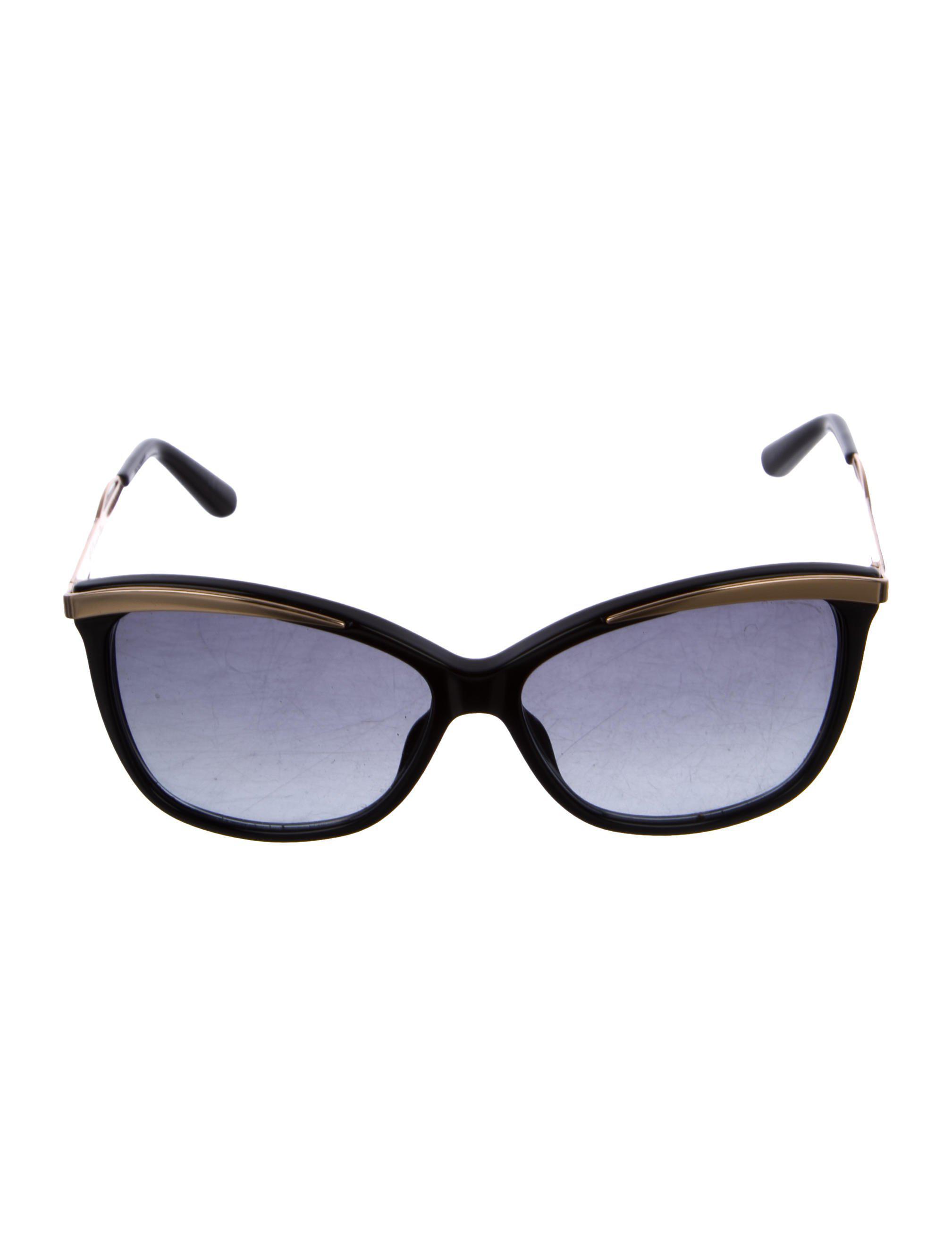 2d7bbb4c2052 Lyst - Dior Metaleyes 2 Sunglasses Black in Metallic