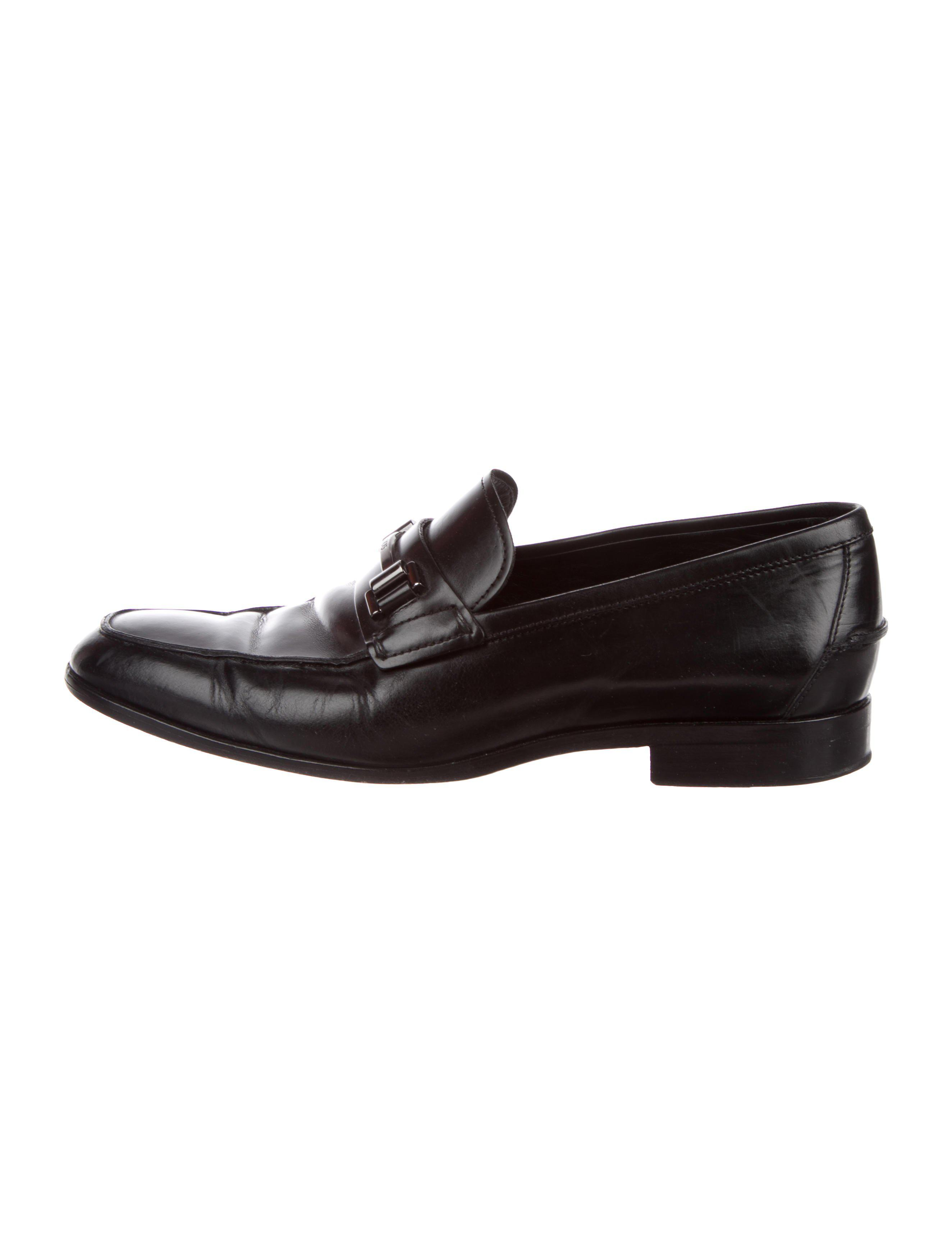185d818f05d Lyst - Tod S Leather Horsebit Loafers in Black for Men