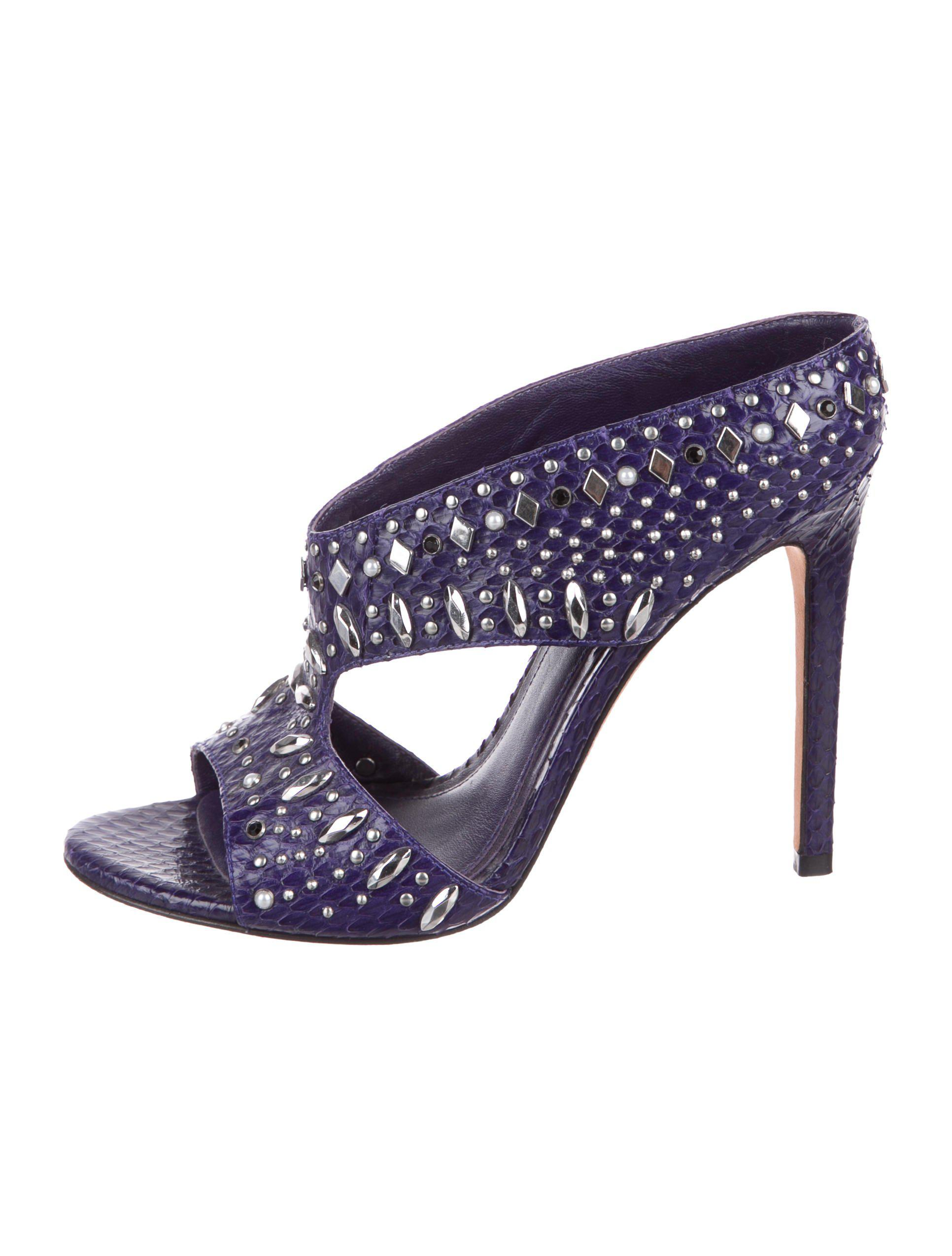 B Brian Atwood Snakeskin Embellished Sandals sale geniue stockist best cheap online cheap sale recommend buy cheap wholesale price cheap sale view gzDUFJ9Q