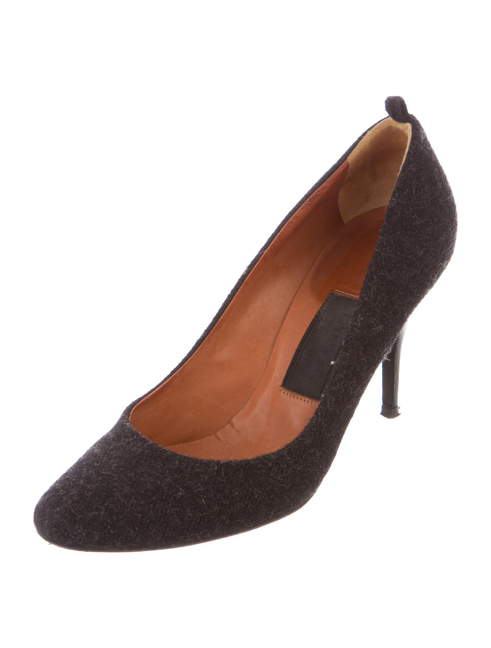 Lanvin Felt Round-Toe Pumps clearance shop offer outlet lowest price cheap sale pre order cheap sale 100% guaranteed very cheap cheap online UsMYZyArPg