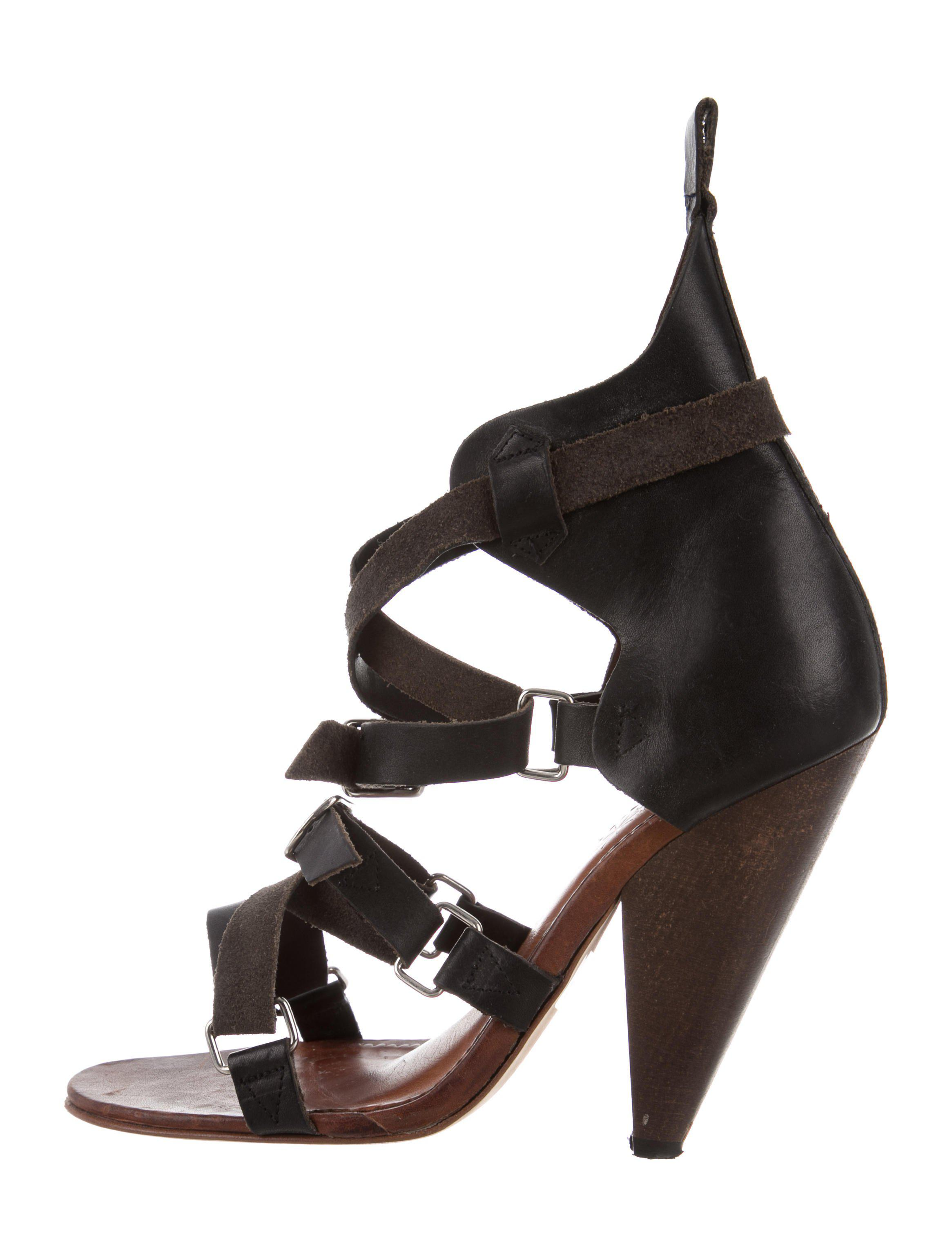 cheap sale 100% original Isabel Marant Leather Multistrap Sandals buy cheap amazing price discount Cheapest uDGdBYD0fT