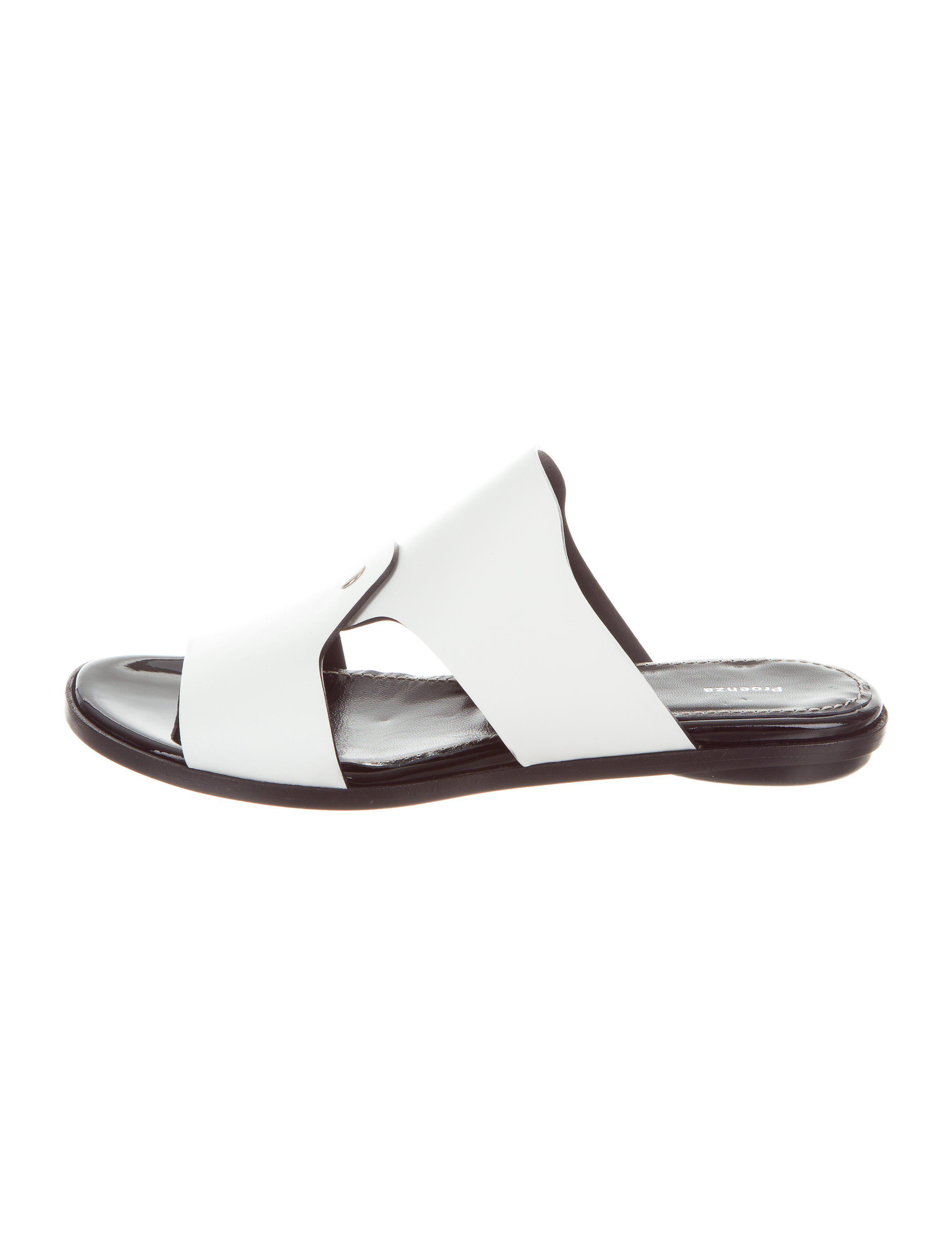 genuine cheap price sale cost Proenza Schouler Leather Slide Sandals w/ Tags discount marketable the cheapest woVPMM