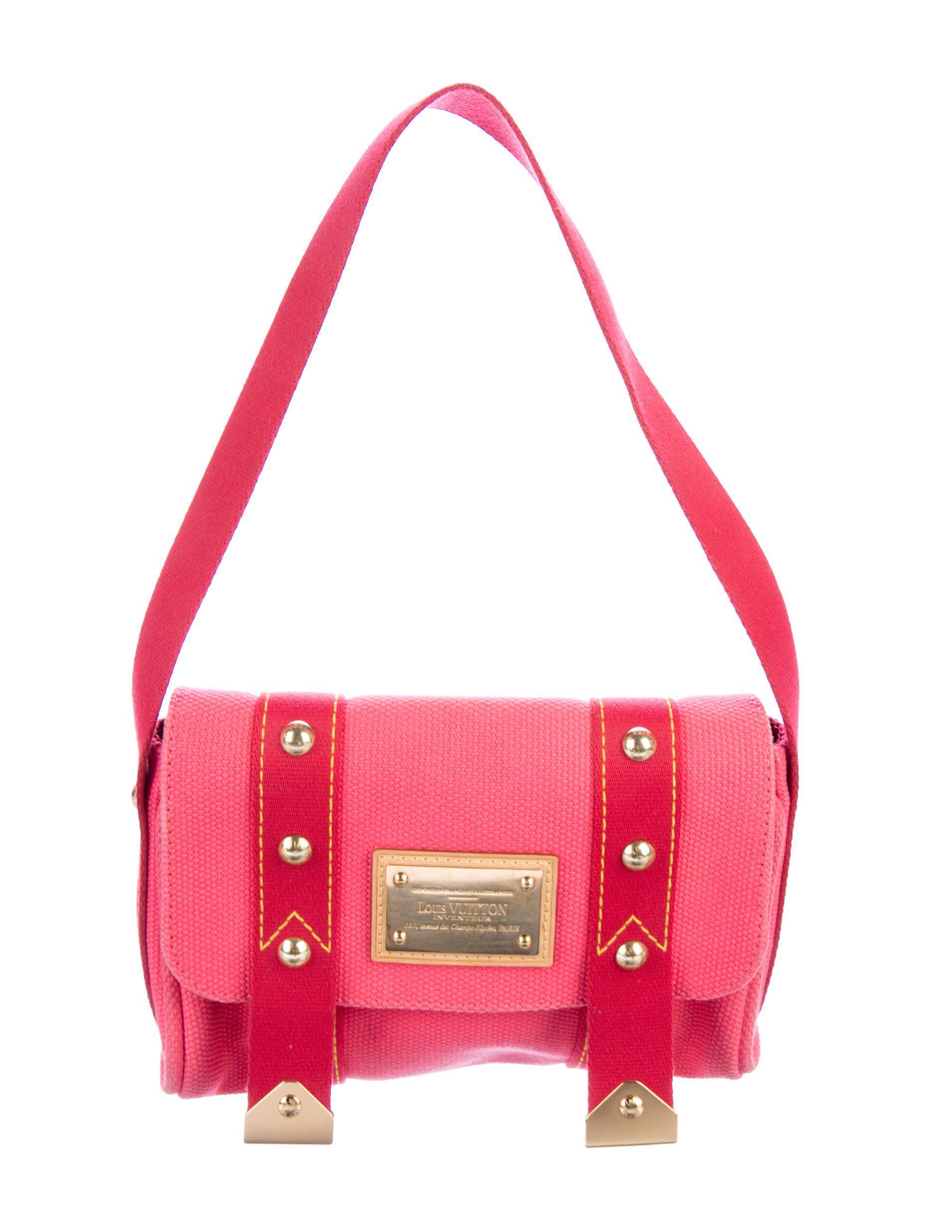 dba49114d121 Lyst - Louis Vuitton Antigua Sac Rabat Bag Pink in Natural