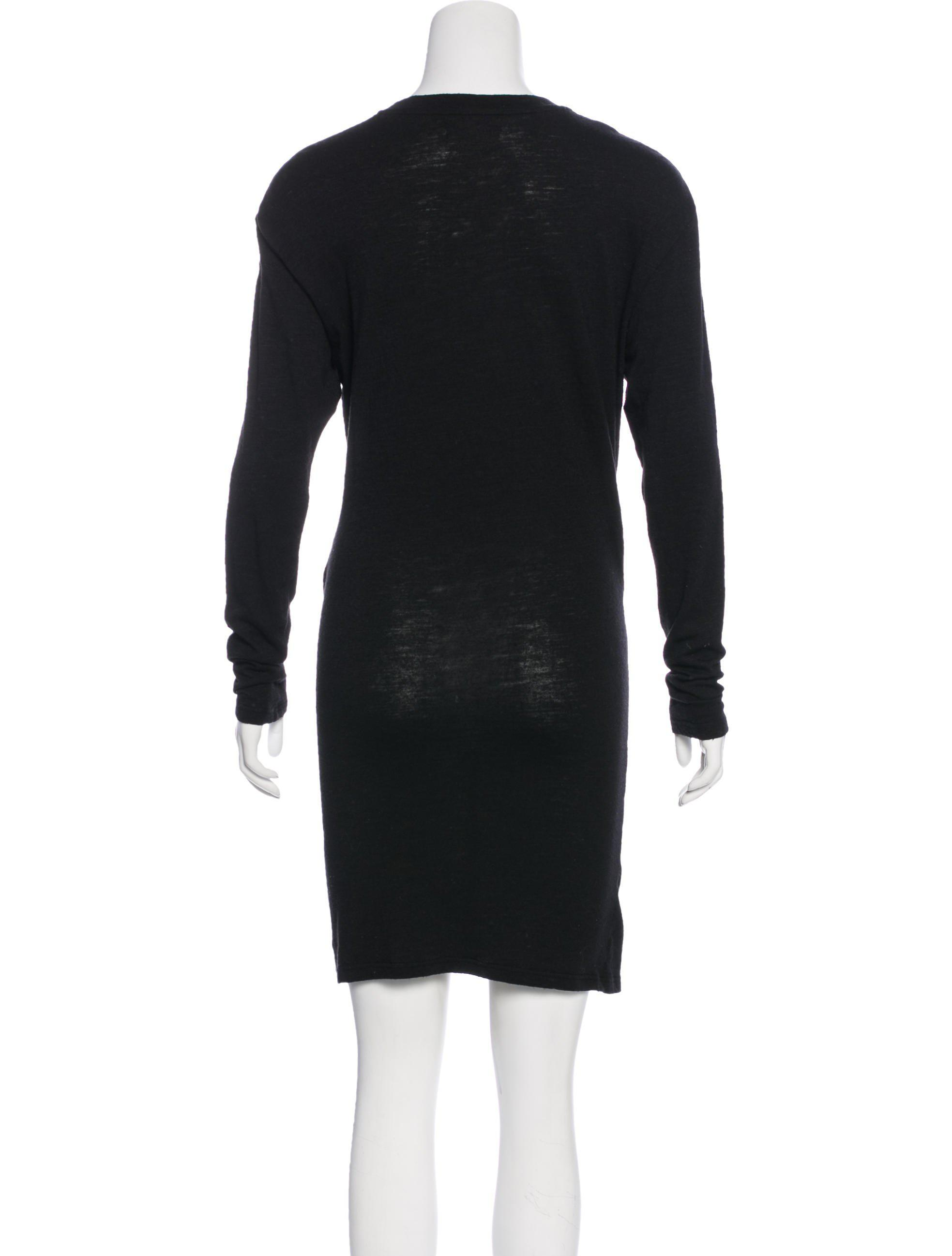 Many Kinds Of Cheap Online Cheap Sale Ebay Étoile Isabel Marant Virgin Wool-Blend Dress Pay With Paypal Sale Online nA1RQK