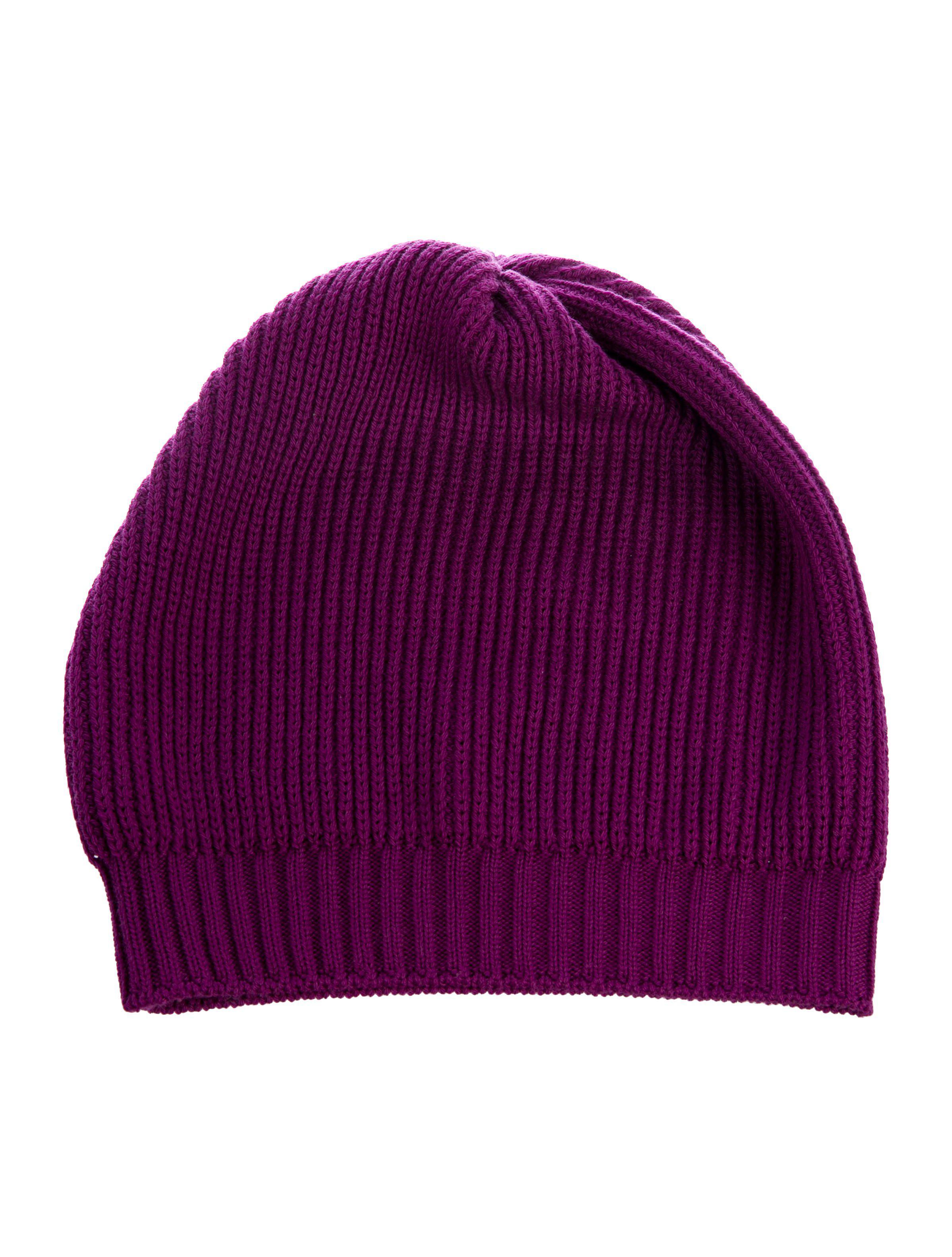 5452d2c6fe1 Lyst - Missoni Knit Wool Beanie Violet in Purple