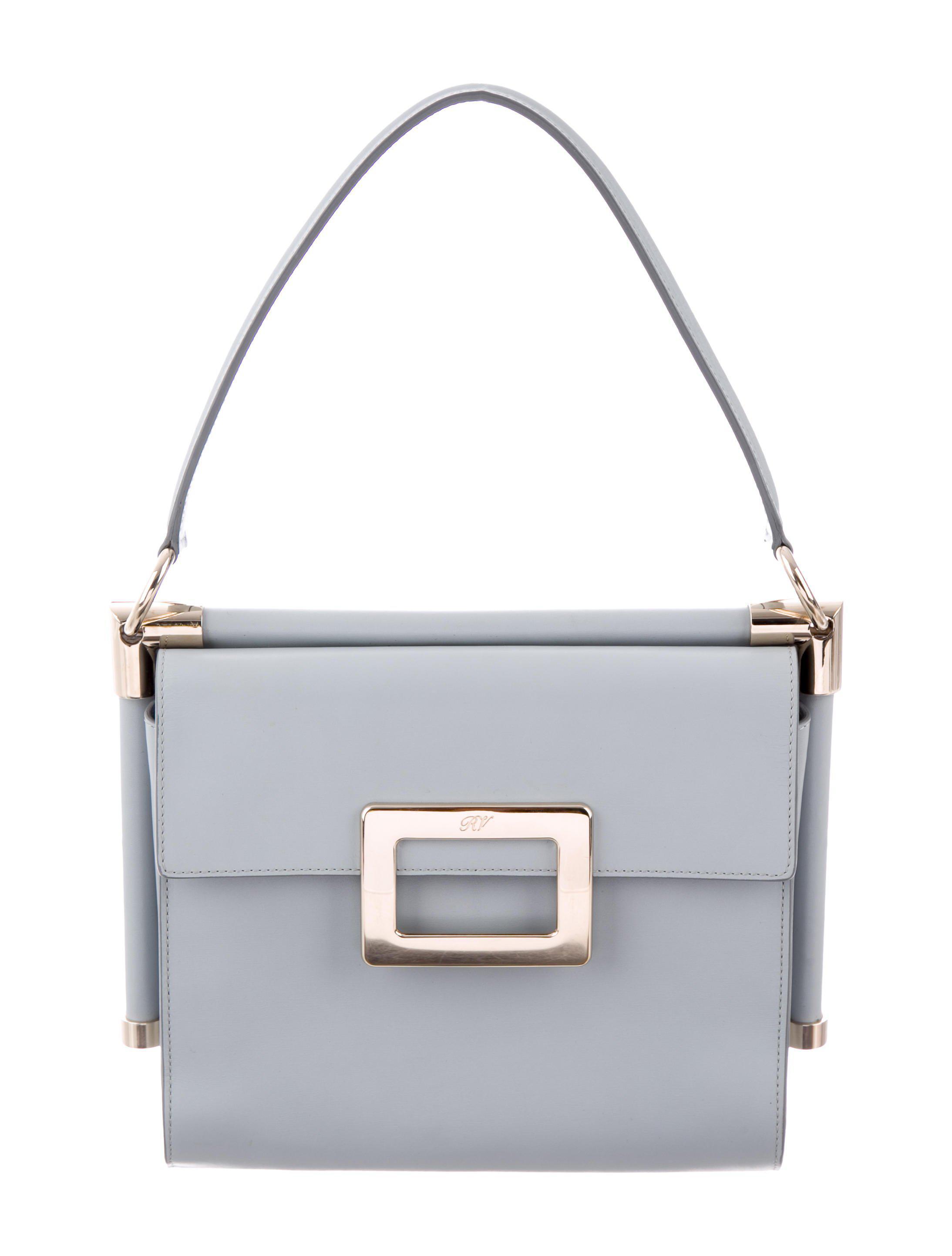 4b5193b46b ... Lyst - Roger Vivier Small Miss Viv Carré Bag Blue in Metalli best  service 2fe44 071a2 ...