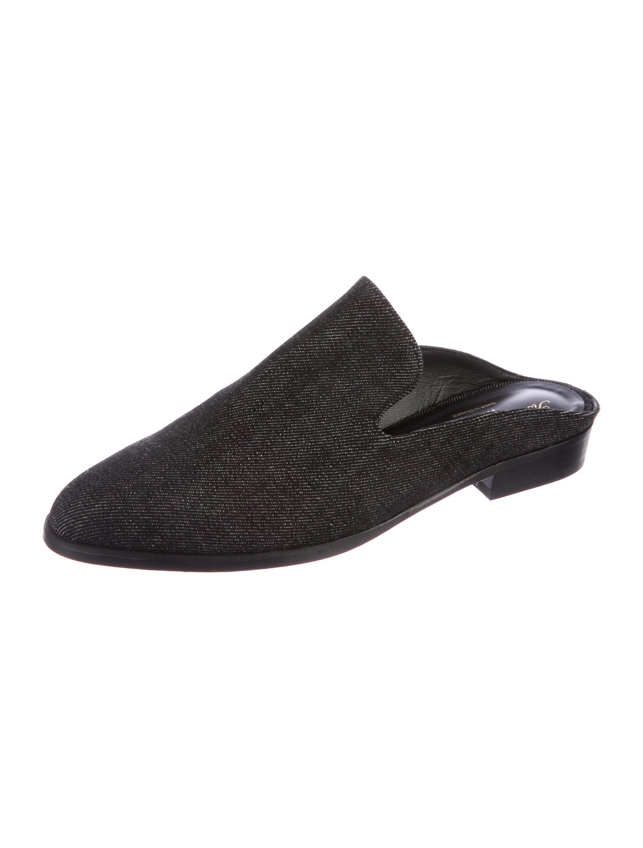 cheap prices authentic discount affordable Robert Clergerie Embossed Round-Toe Mules discount 100% guaranteed RtPMVfqw