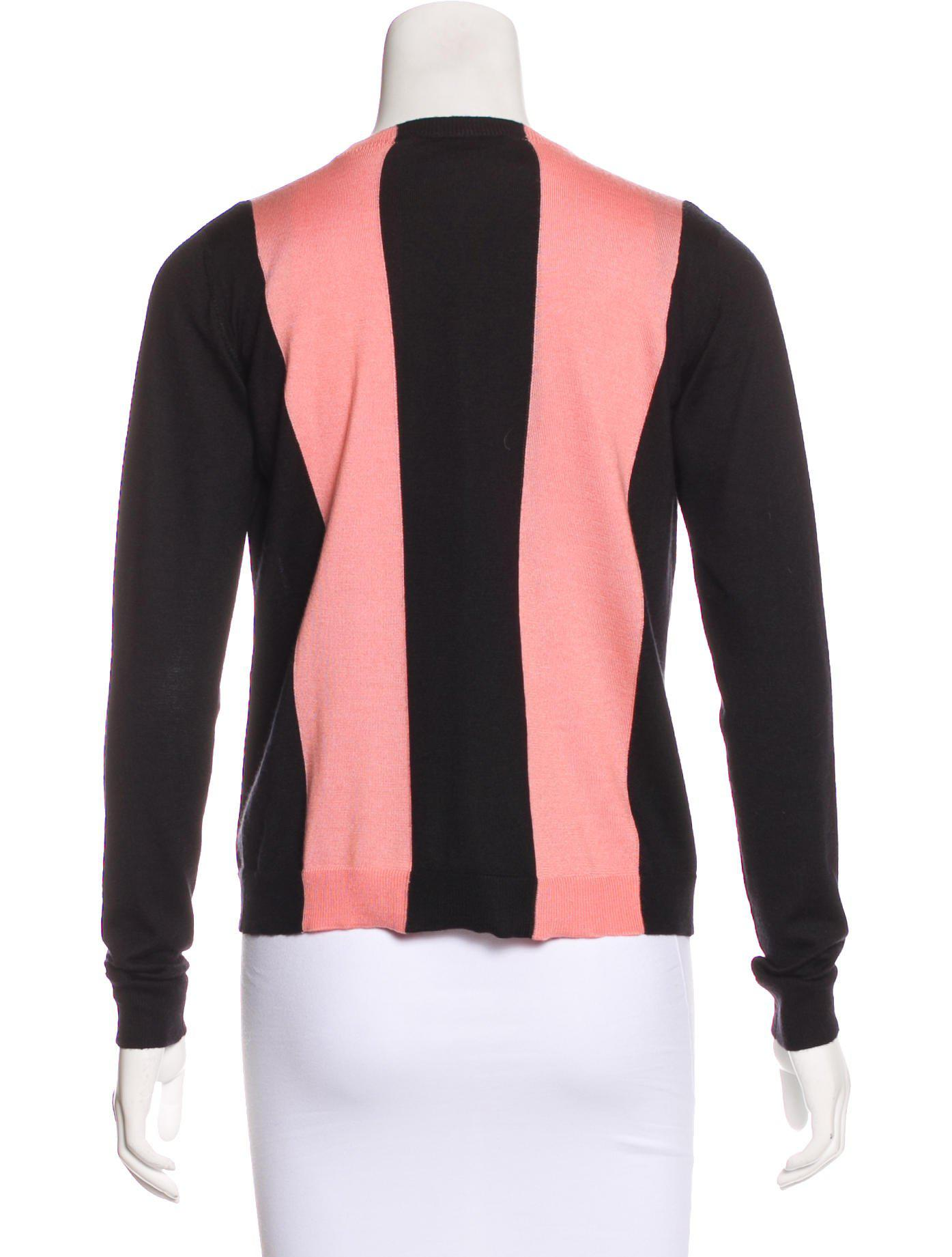 Lyst Dior Cashmere Blend Cardigan Set In Pink
