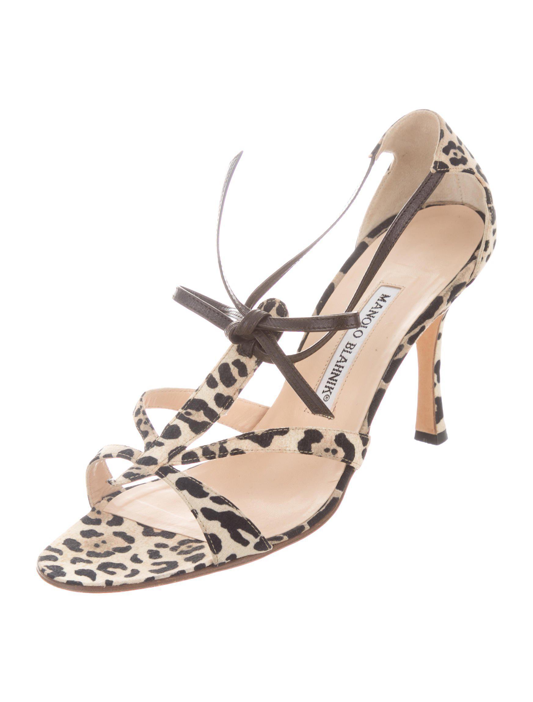 107ef0e63f0 ... Stuart Weitzman Nudist Calf Hair Ankle Strap Sandal Leopard ...