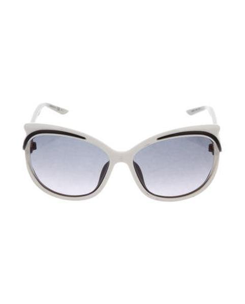 01d27288540 Lyst - Dior Audacieuse 2 Sunglasses in Black