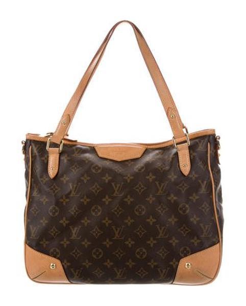 1139942b6846 Lyst - Louis Vuitton Monogram Estrela Mm Brown in Natural