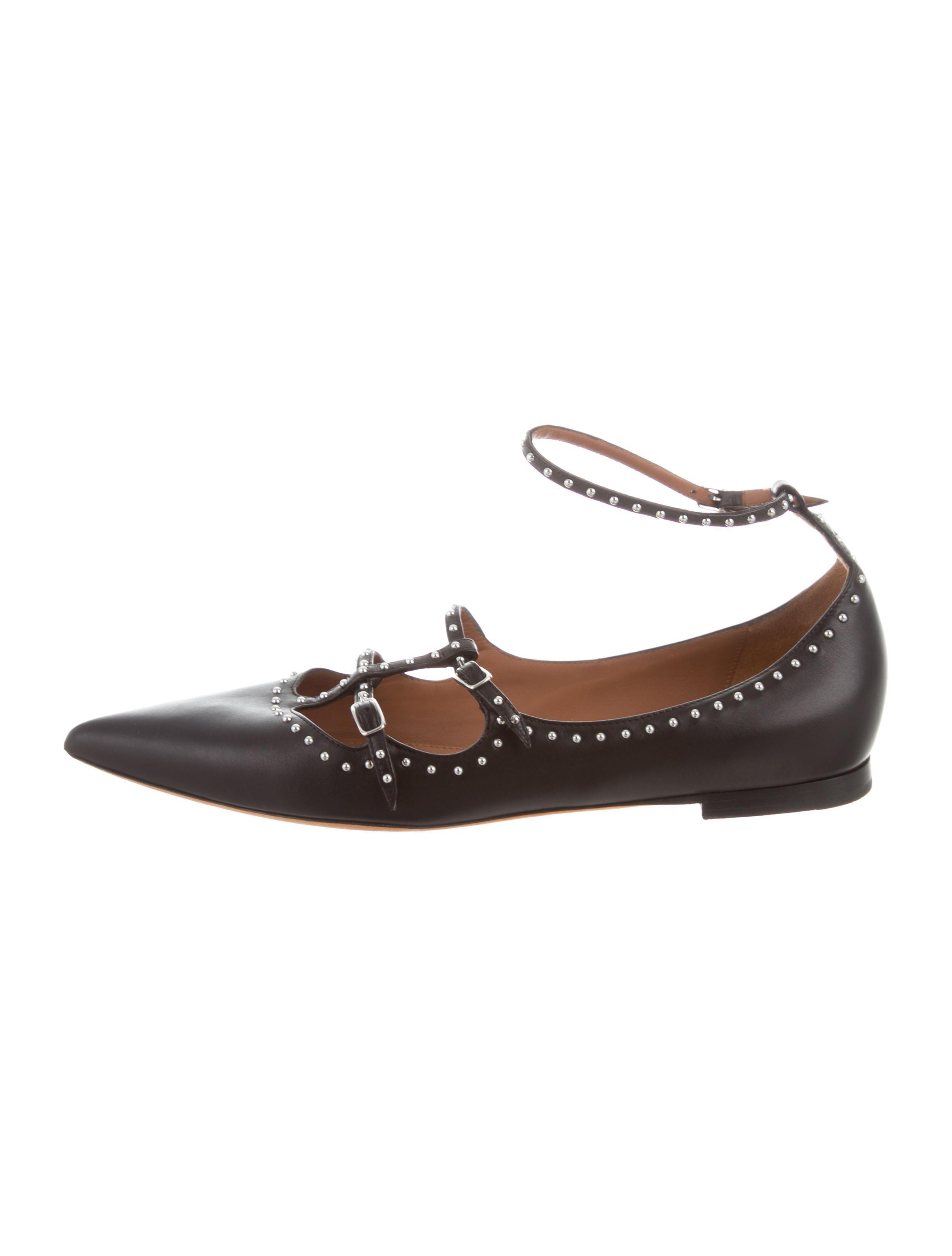 TOGA PULLA Pointed-toe stud-embellished cage shoes Genuine 2LIynoZvd