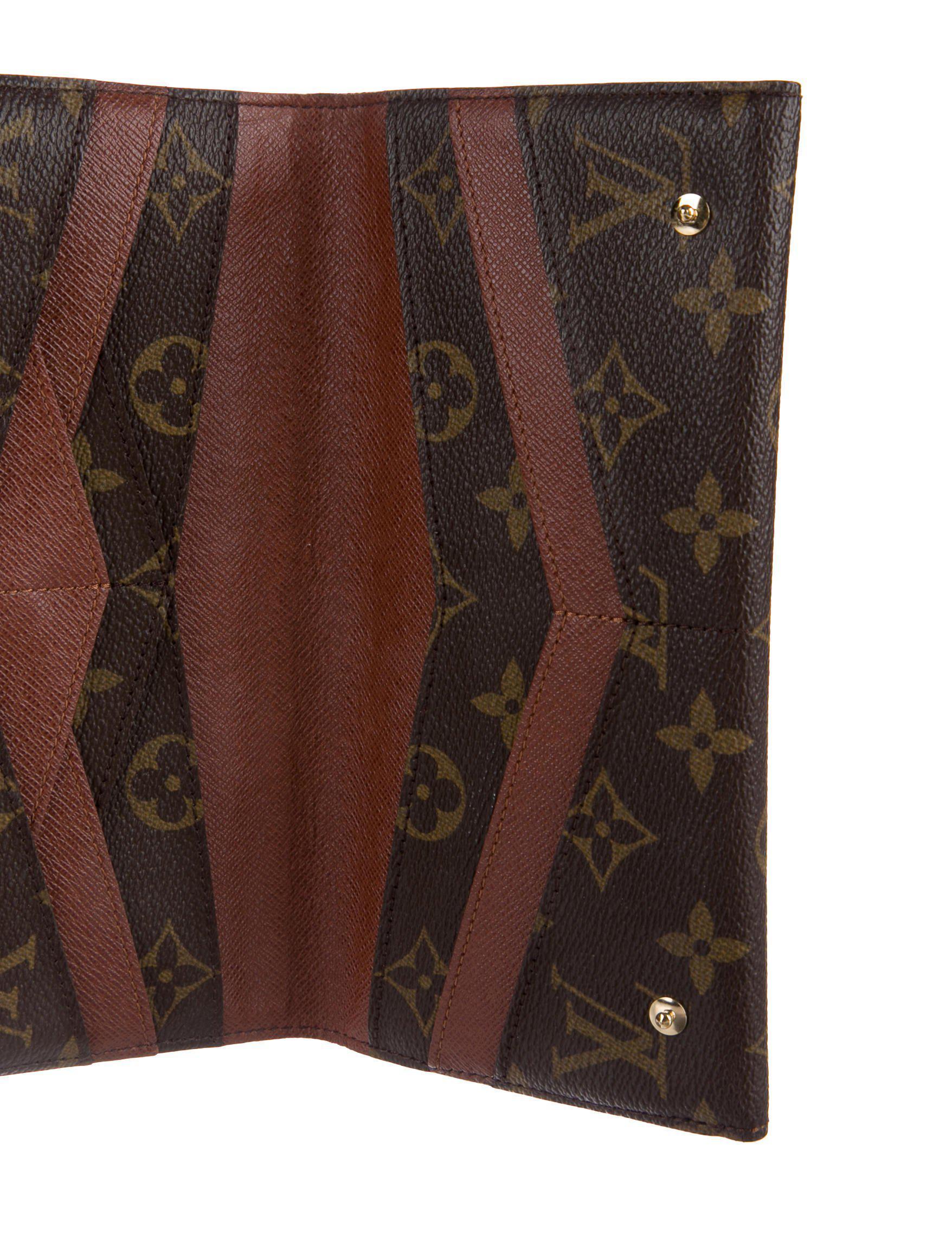 Lyst Louis Vuitton Monogram Origami Wallet Brown In Natural