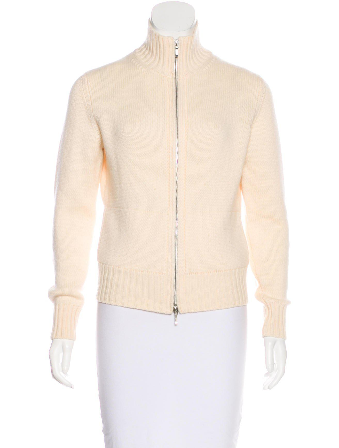 e14a76531 Lyst - Loro Piana Cashmere Knit Cardigan in White