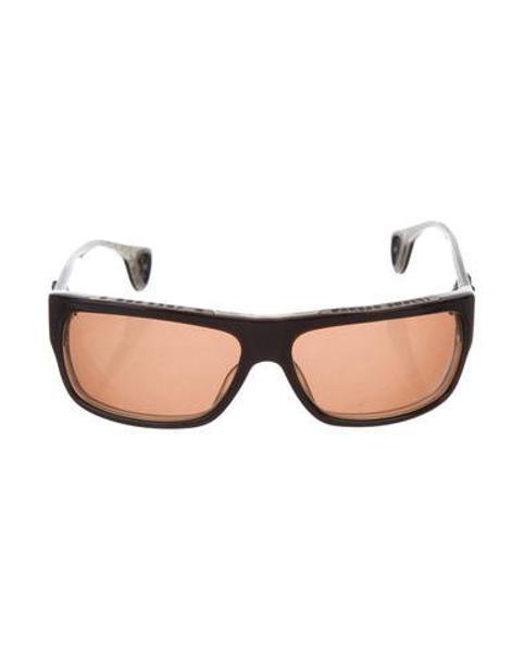 6f46c71e5a0a Lyst - Chrome Hearts T-bag-n Tinted Sunglasses Brown in Metallic