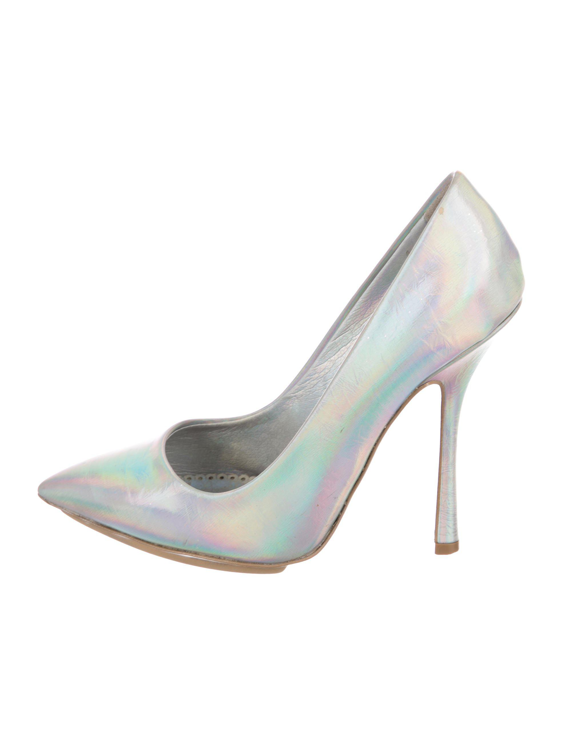 sale from china Stella McCartney Vegan Holographic Pumps clearance 100% guaranteed free shipping 2015 new huge surprise genuine for sale YHIcF