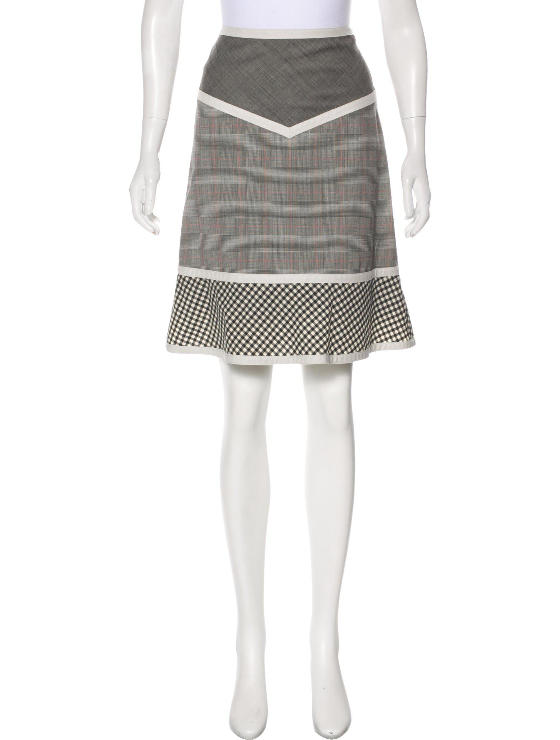 f9f926bfd3 Lyst - Boutique Moschino Patterned Knee-length Skirt Grey in Gray
