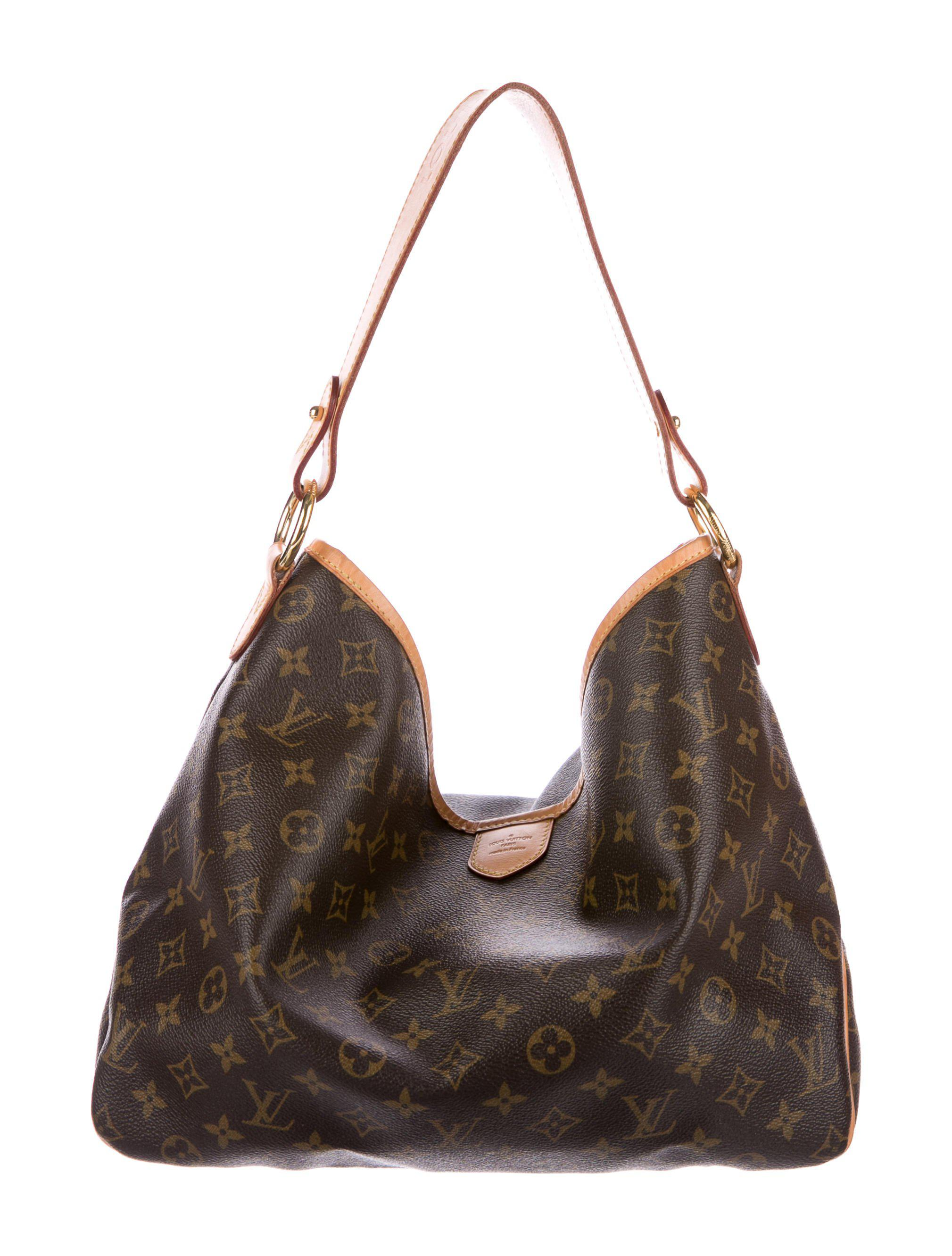 7d8a91bc14e Lyst - Louis Vuitton Monogram Delightful Pm Brown in Natural