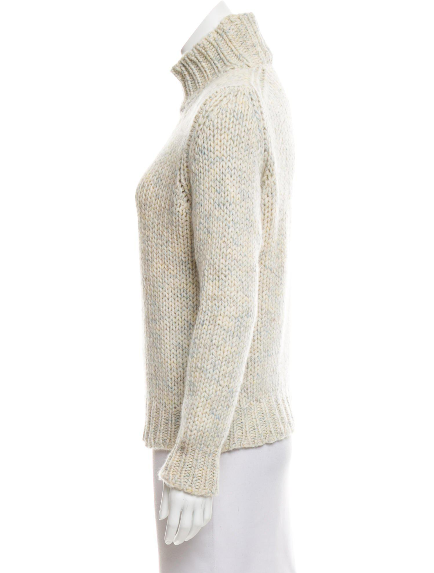 Loro piana Cashmere Turtleneck Sweater in Yellow   Lyst