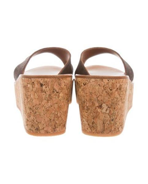 688654f150e3 K. Jacques - Brown Kobe Wedge Sandals W  Tags - Lyst. View fullscreen
