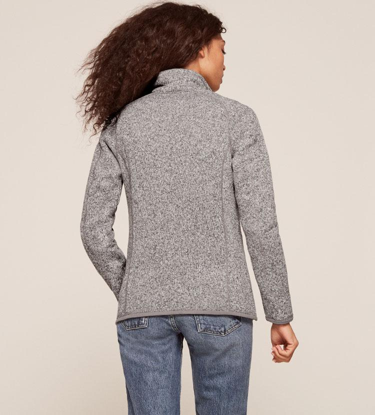 Lyst Reformation Patagonia Womens Better Sweater Fleece Jacket In