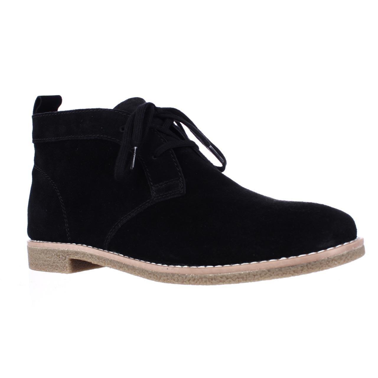 tommy hilfiger blaze chukka boots in black lyst. Black Bedroom Furniture Sets. Home Design Ideas