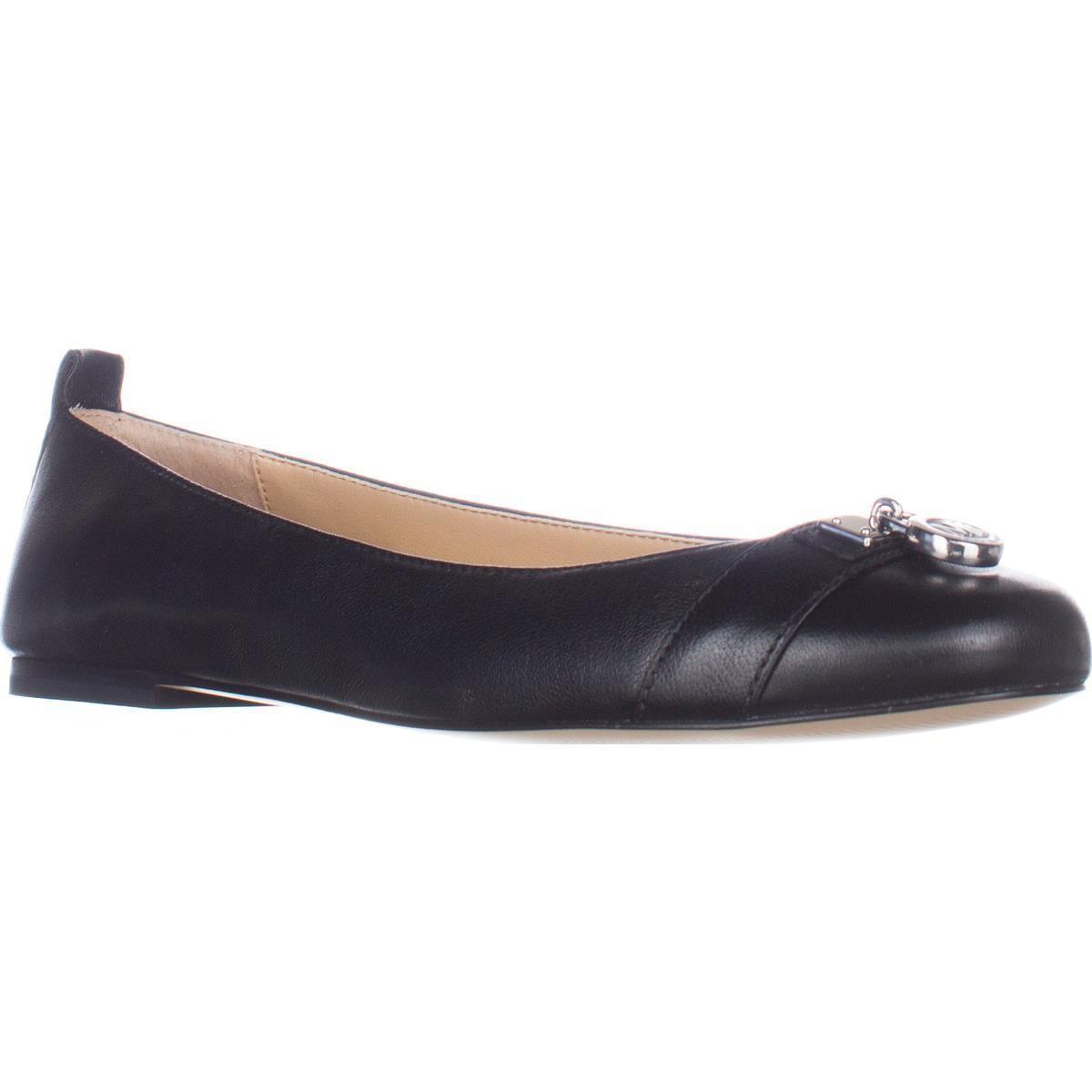 322f95cd2f9 Lyst - Michael Kors Michael Hamilton Ballet Flats in Black