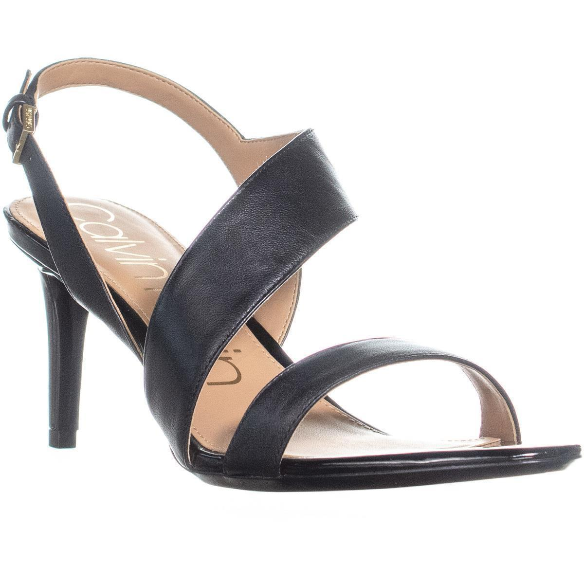 afaf70ccc670f0 https   www.lyst.com shoes calvin-klein-lancy-strap-slim-heel-sandals ...