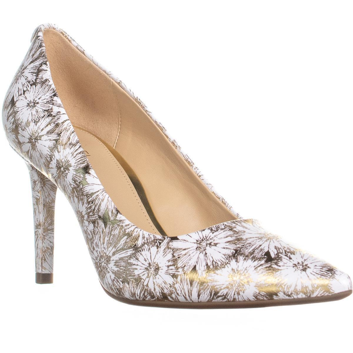 3f1c586c958e Lyst - Michael Kors Michael Dorothy Flex Pump Classic Heels in White